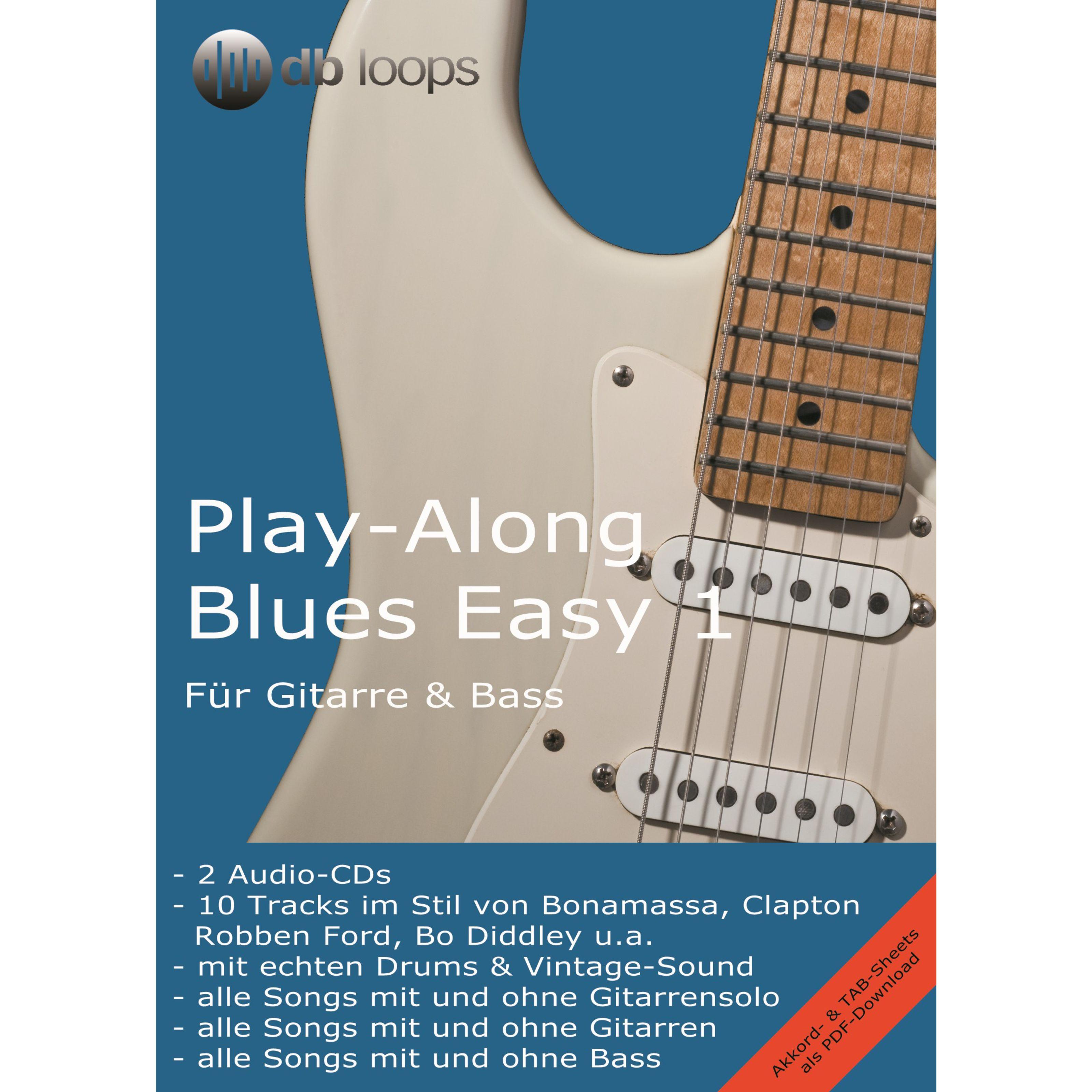 db loops - Blues - Easy 1 Gitarre Playalong