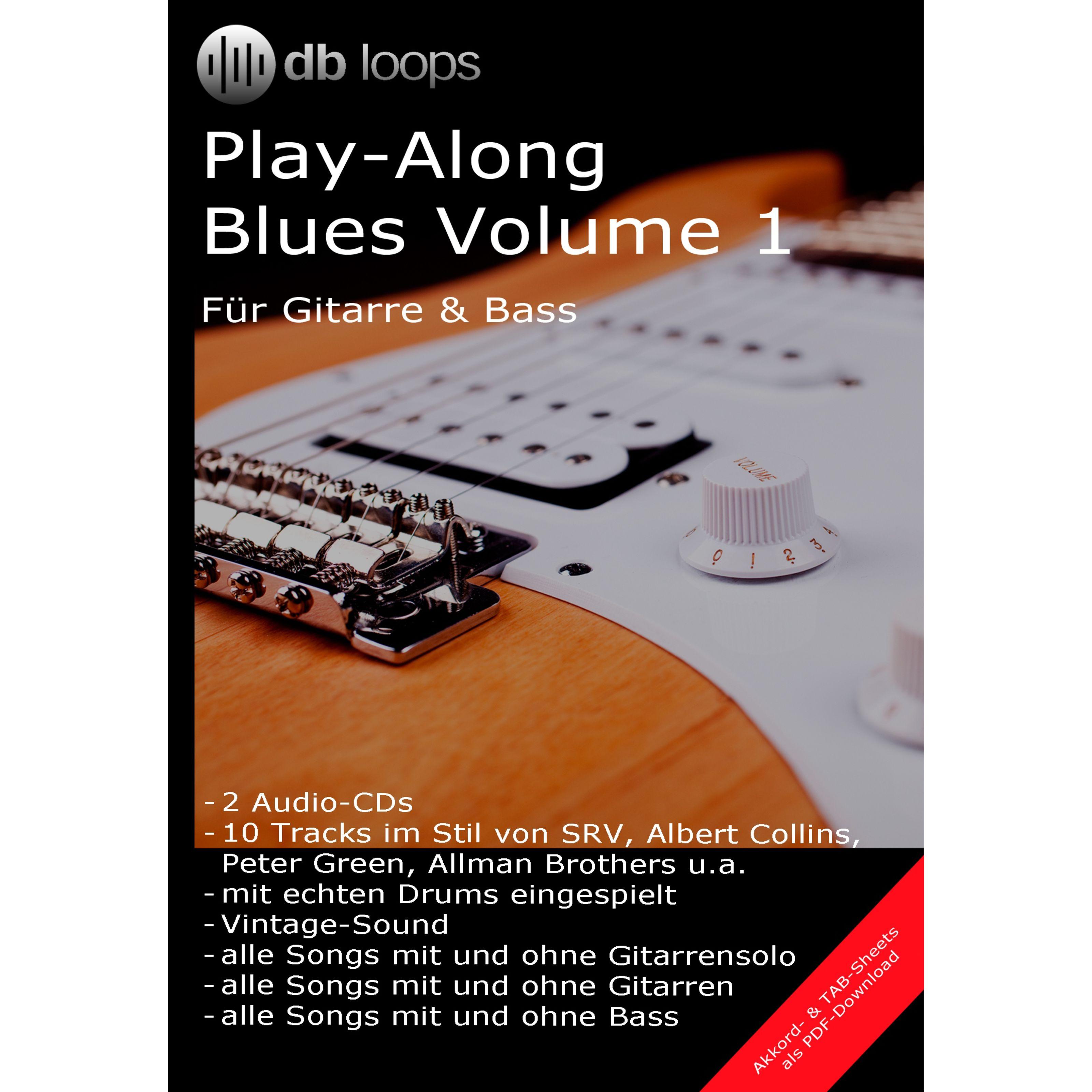 db loops - Blues - Volume 1 Gitarre Playalong 1-001