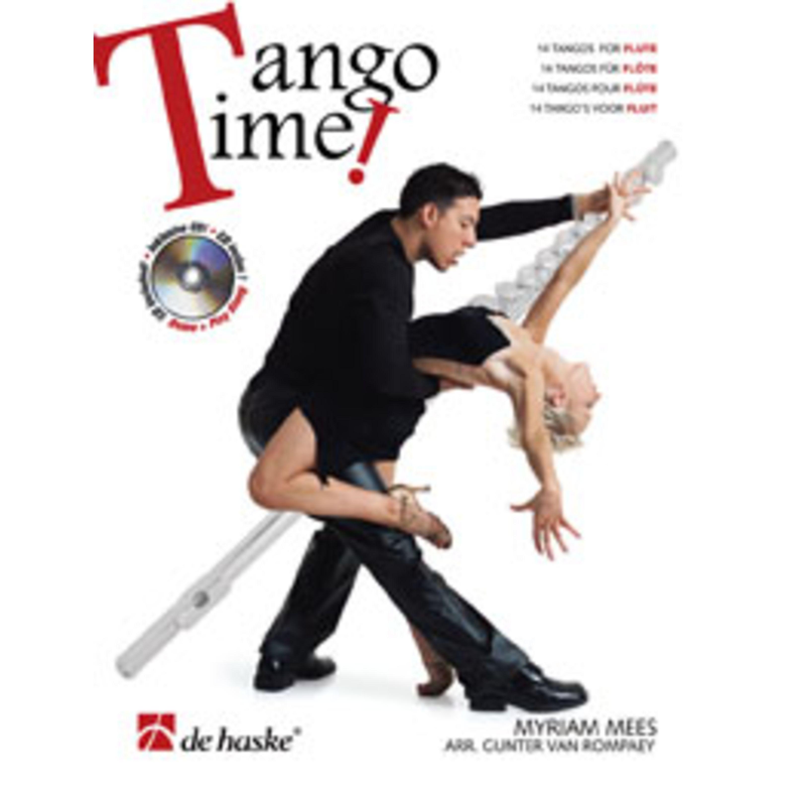 De Haske - Tango Time! Querflöte & CD