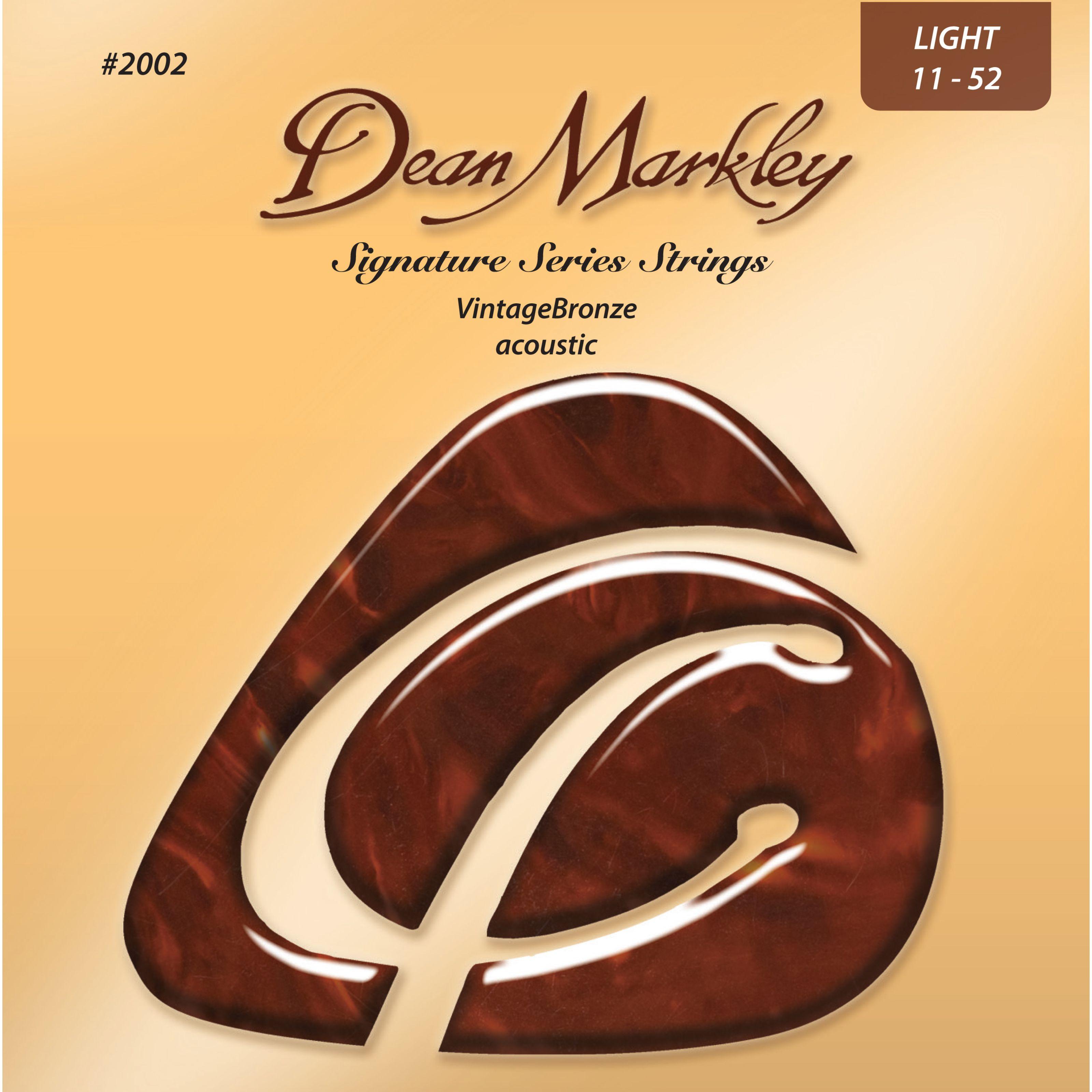 Dean Markley - A-Git.Saiten 11-52 2002 LT VintageBronze Acoustic DM2002