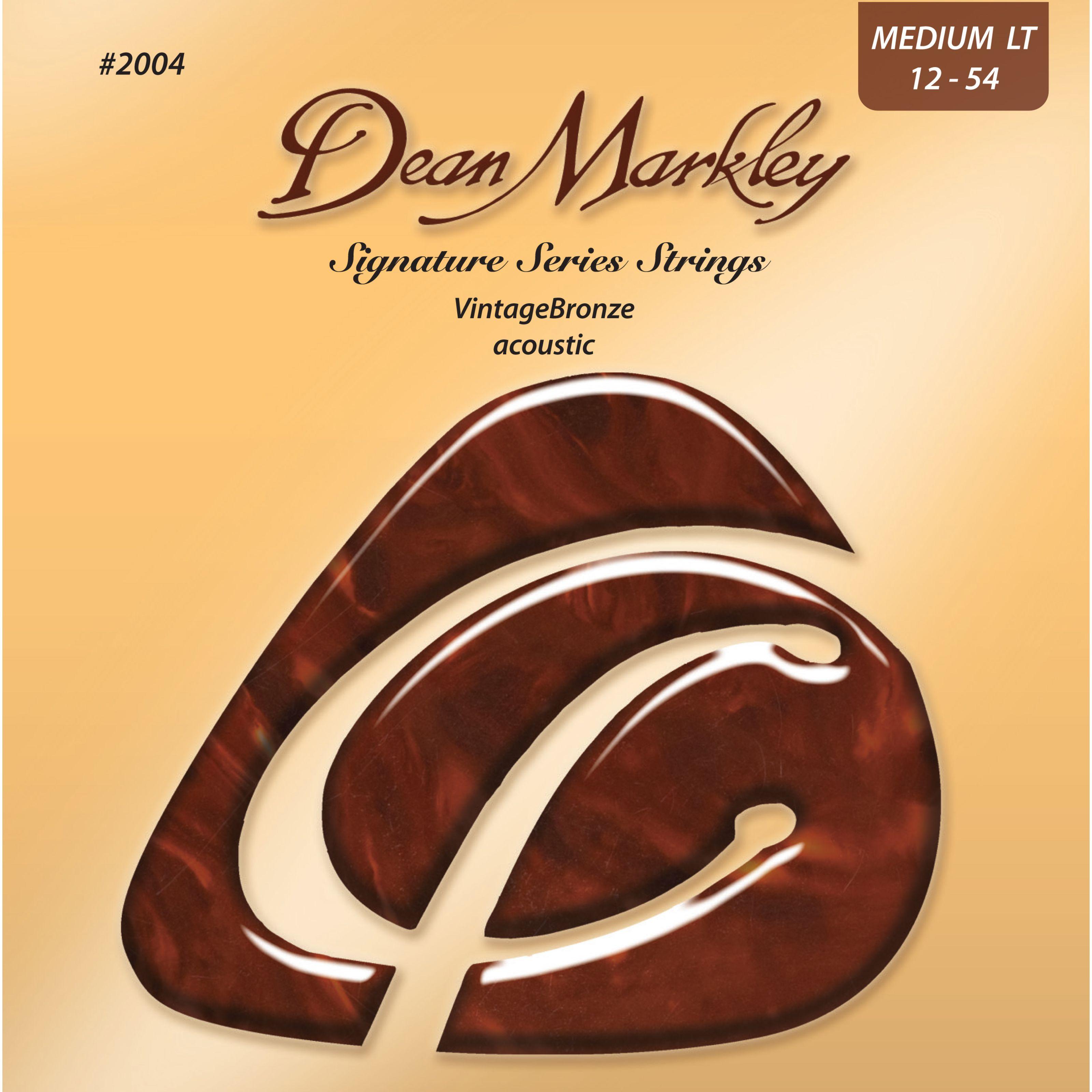 Dean Markley - A-Git.Saiten 12-54 2004 ML VintageBronze Acoustic DM2004