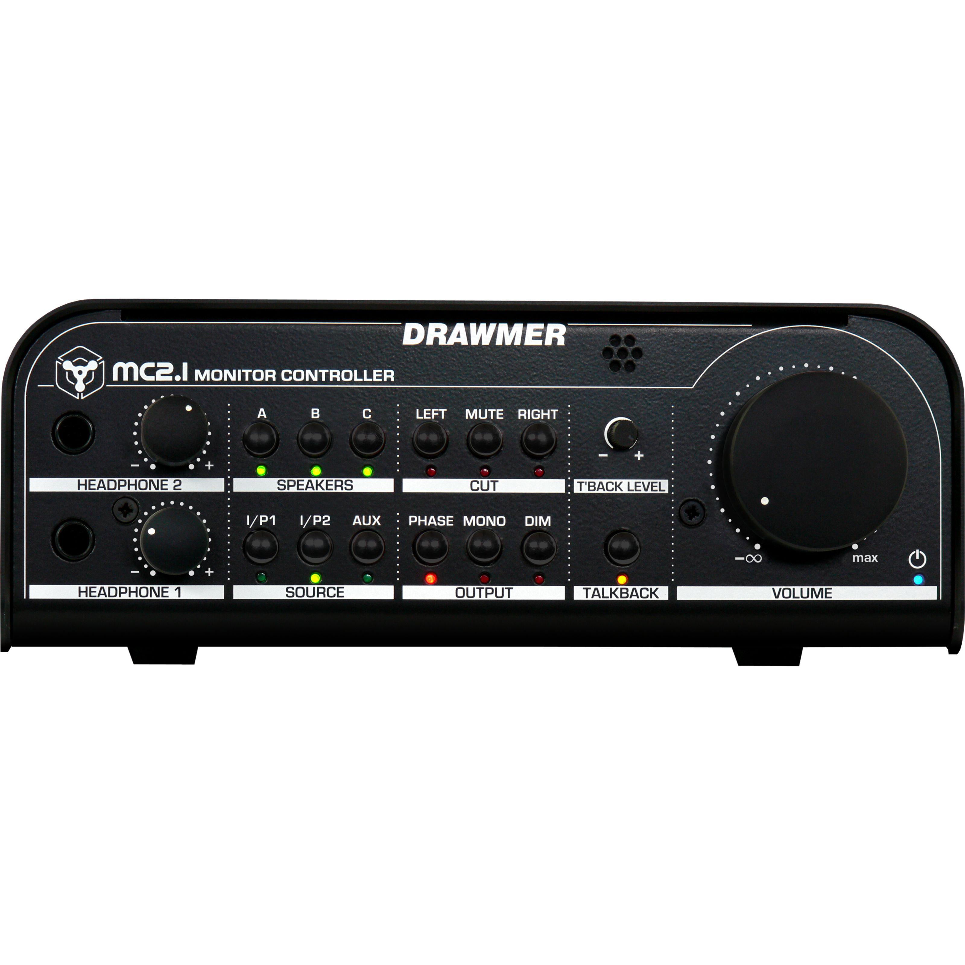 Drawmer - MC2.1 Monitorcontroller