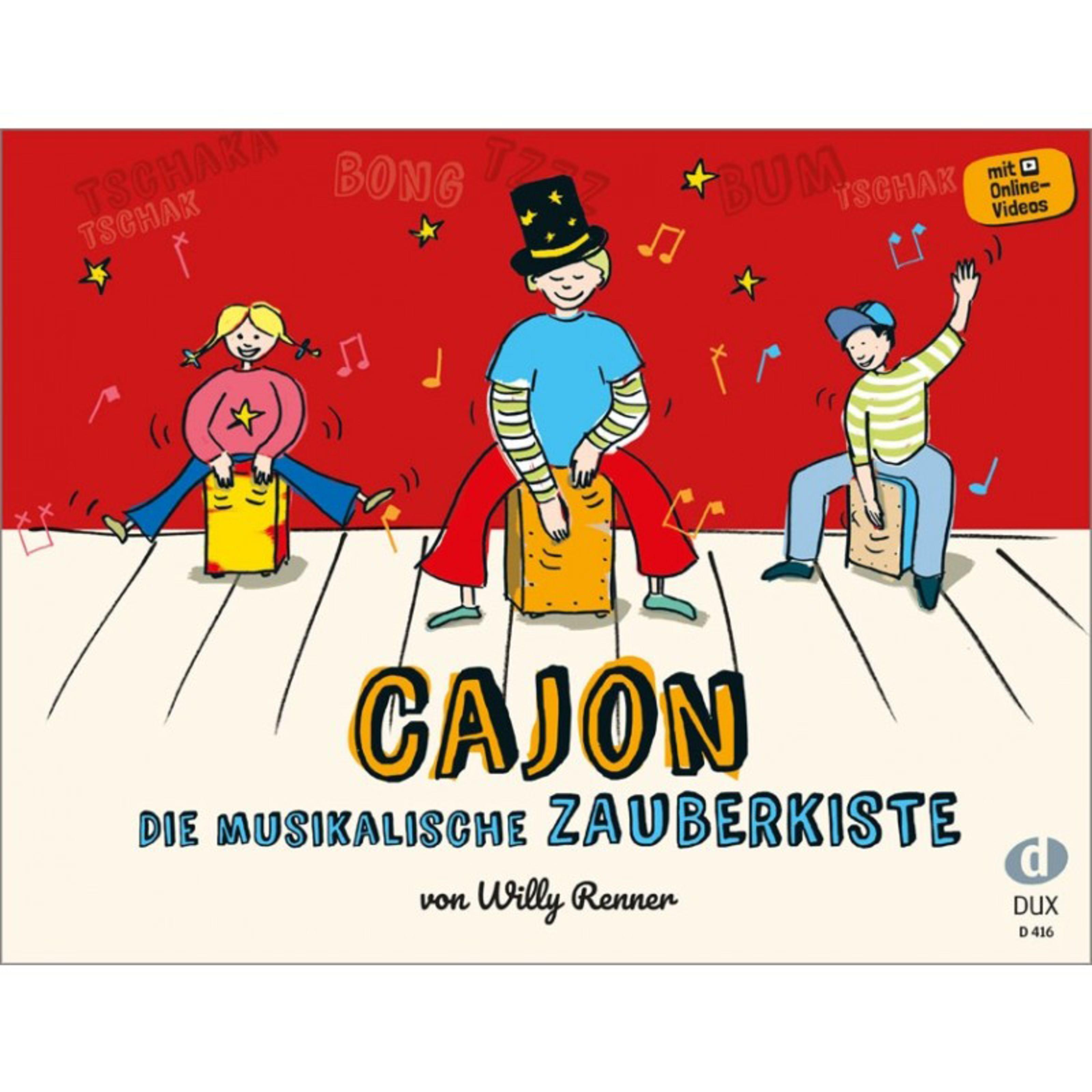 Edition Dux - Cajon - Die musikalische Zauberkiste D 416