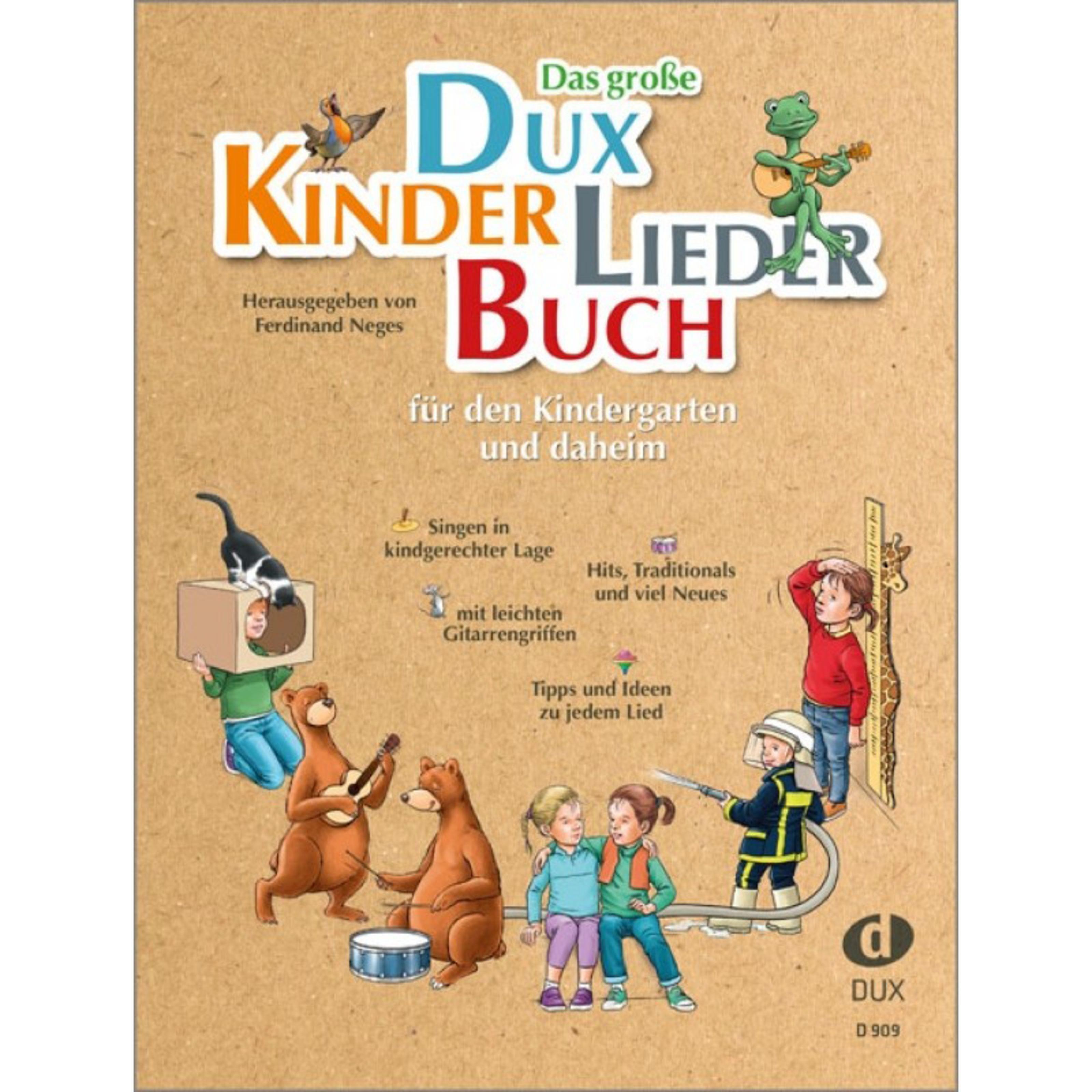Edition Dux - Das große Dux-Kinderliederbuch D 909
