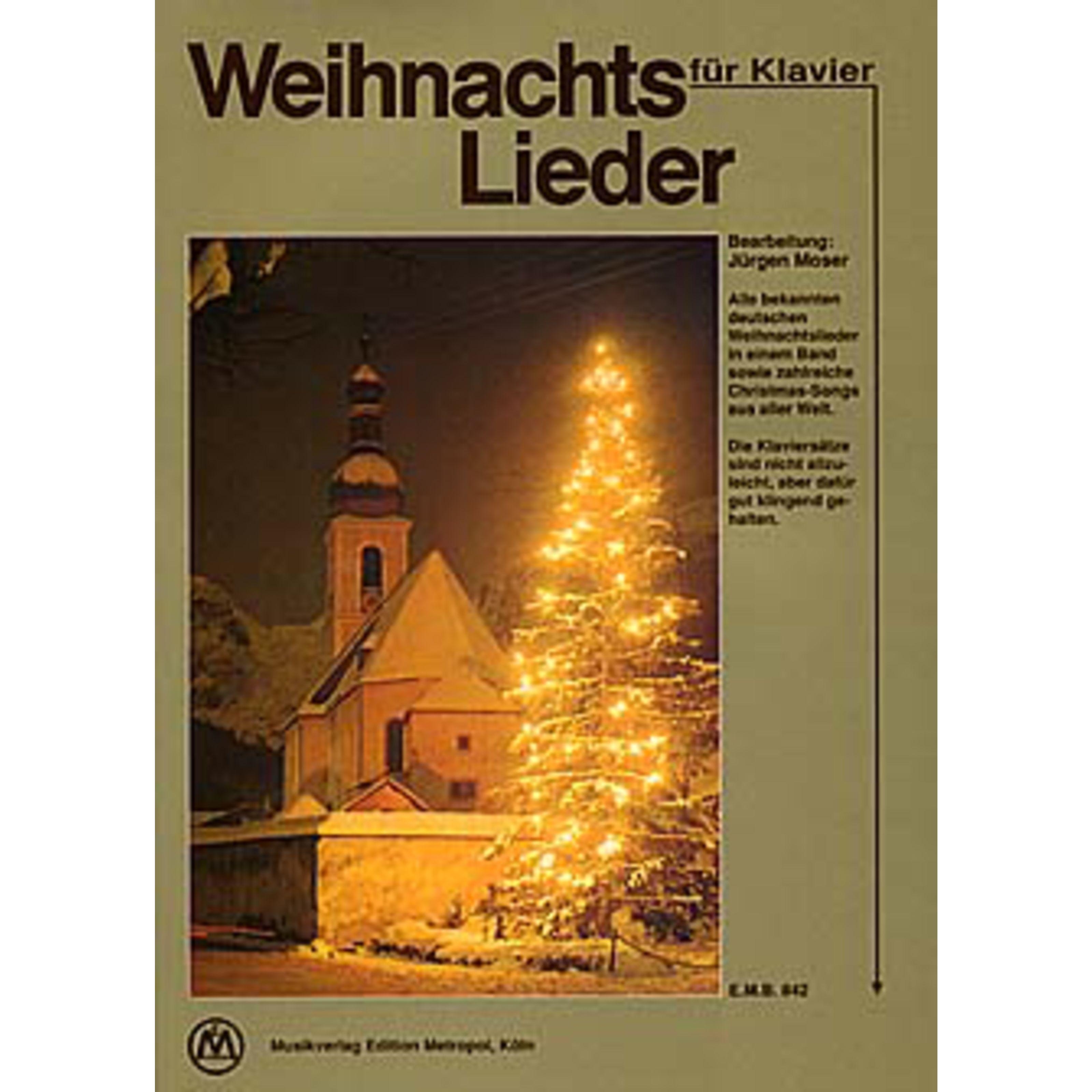 Edition Metropol - Weihnachtslieder für Klavier EMB 842