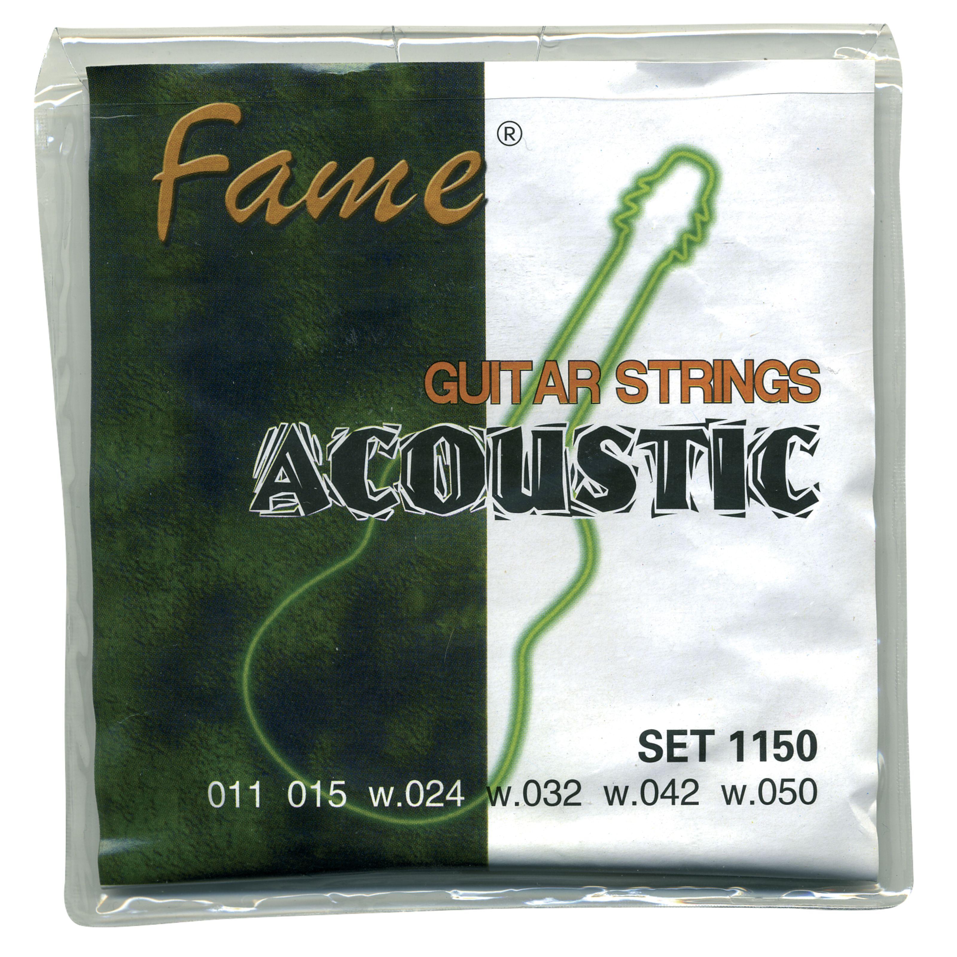 Fame - A-Git.Saiten 11-50 Bronze A/G1150 bronze/SET