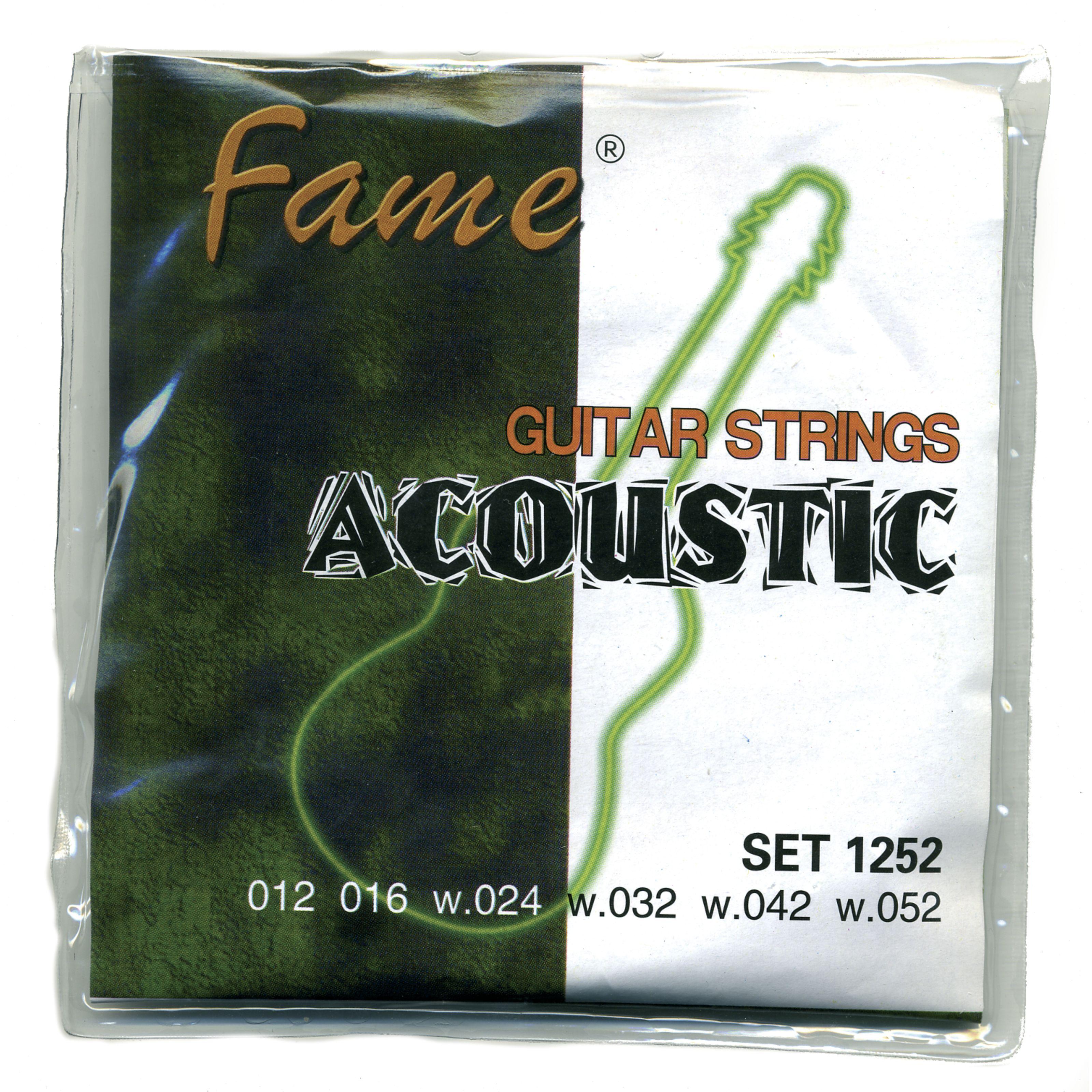 Fame - A-Git.Saiten 12-52 Bronze A/G1252 bronze/SET