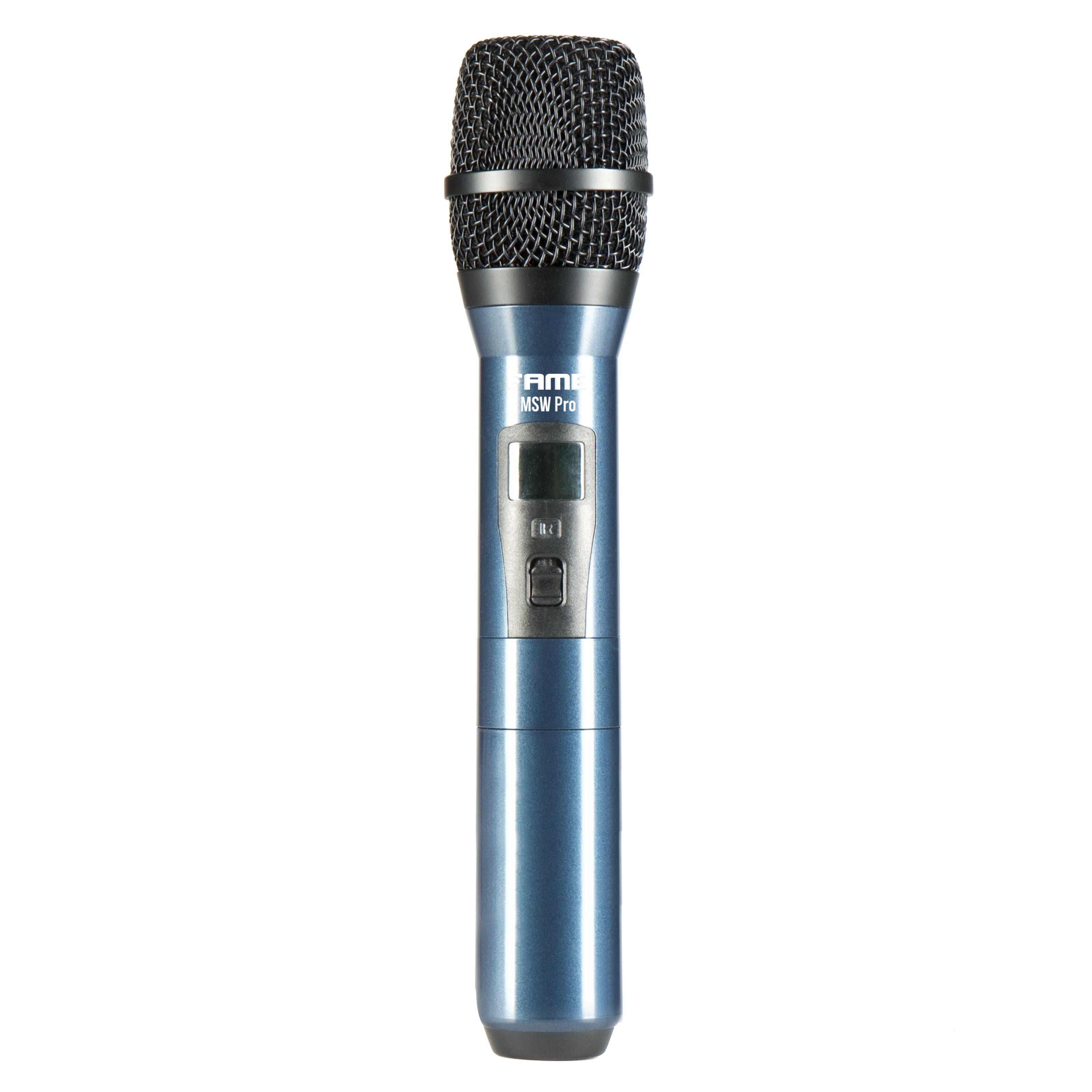 Fame Audio - MSW Pro 4 Handsender MSW Handheld 823-865 Mhz MSW Handheld 823-832