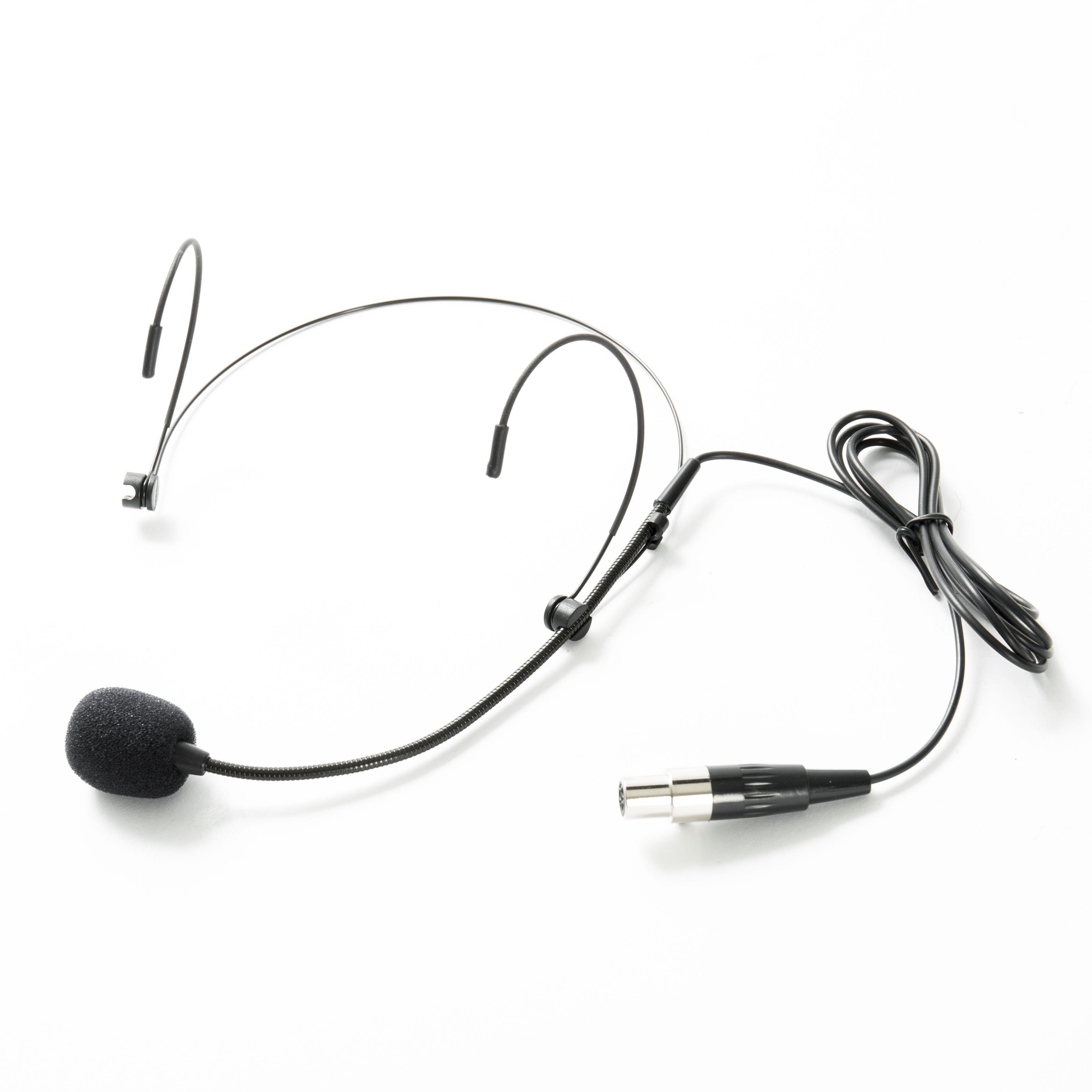 Fame Audio - MSW Pro HS Basic mini XLR Headset, black IH-01 mini XLR