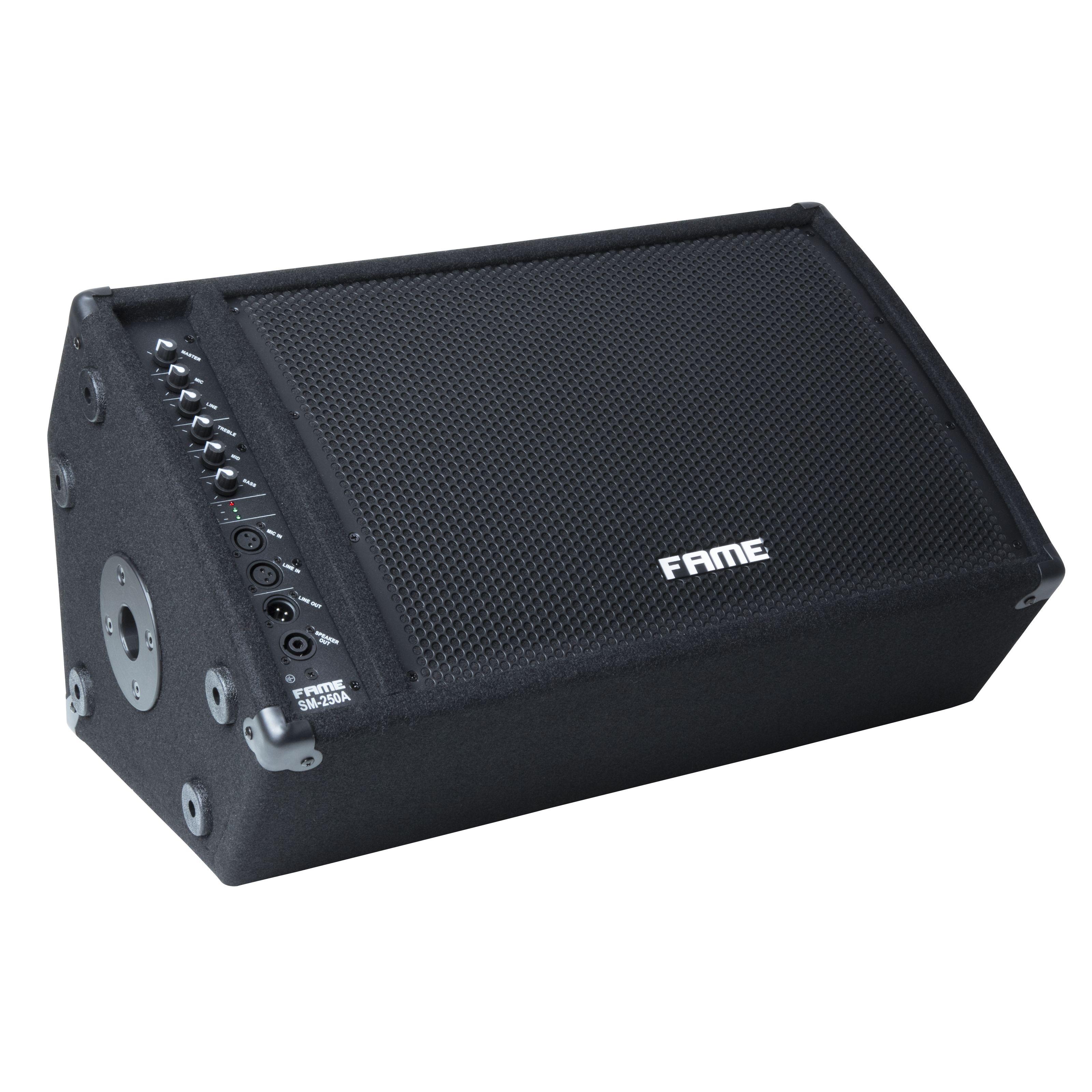 Fame Audio - SM-250 A 12/1 Monitor, 2-Weg, aktiv