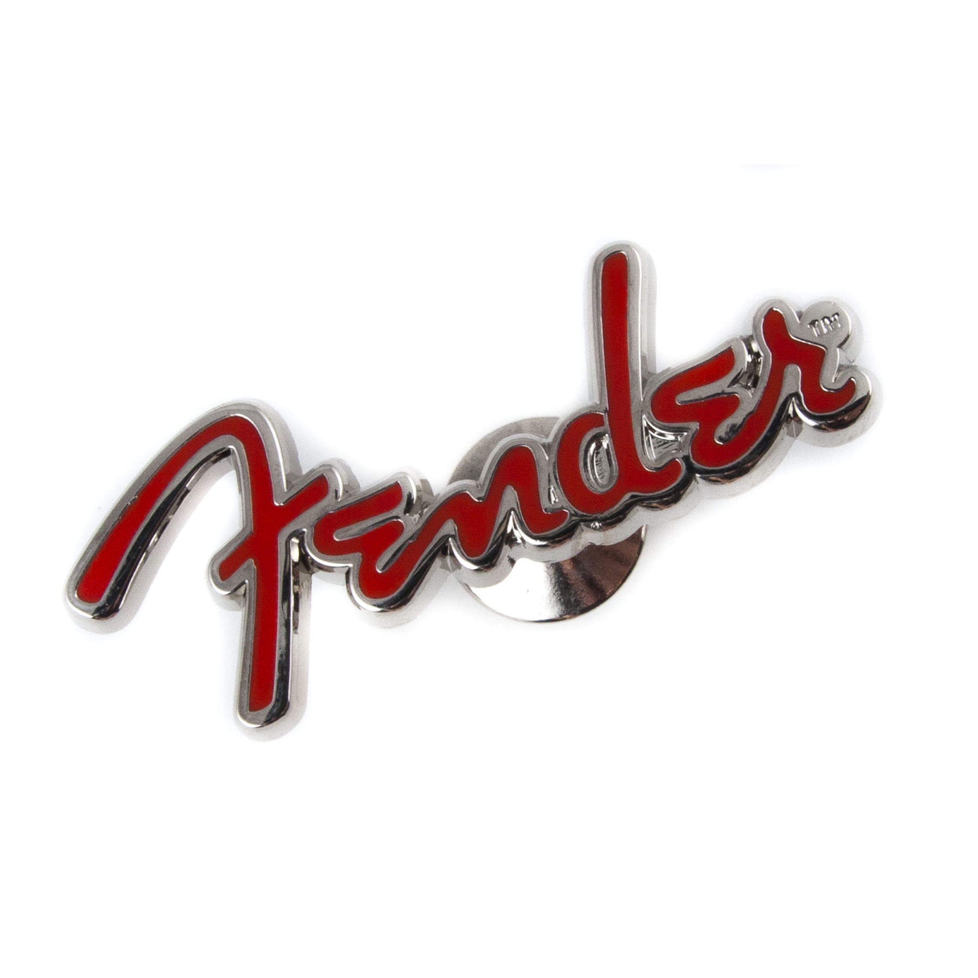 Fender - Logo Pin Red
