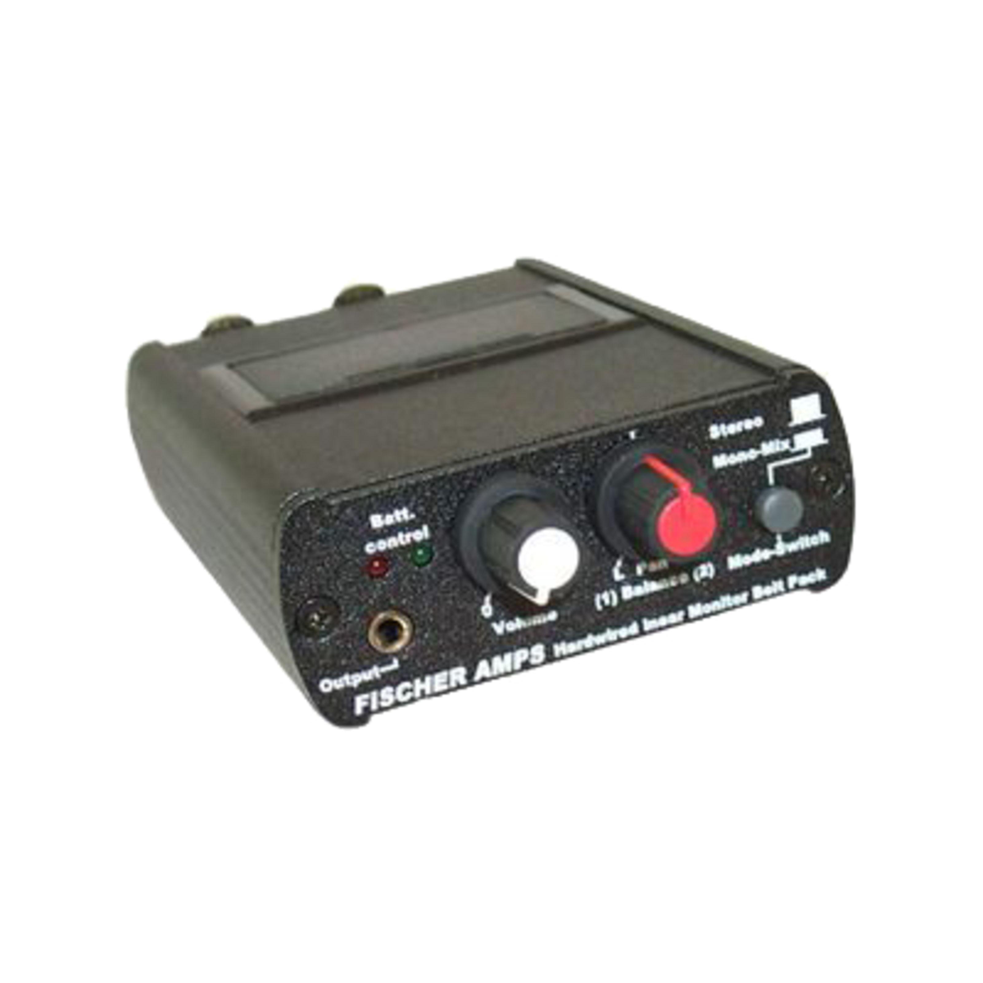 Fischer Amps - In-Ear Monitor Beltpack 2x XLR-Eingänge 001100
