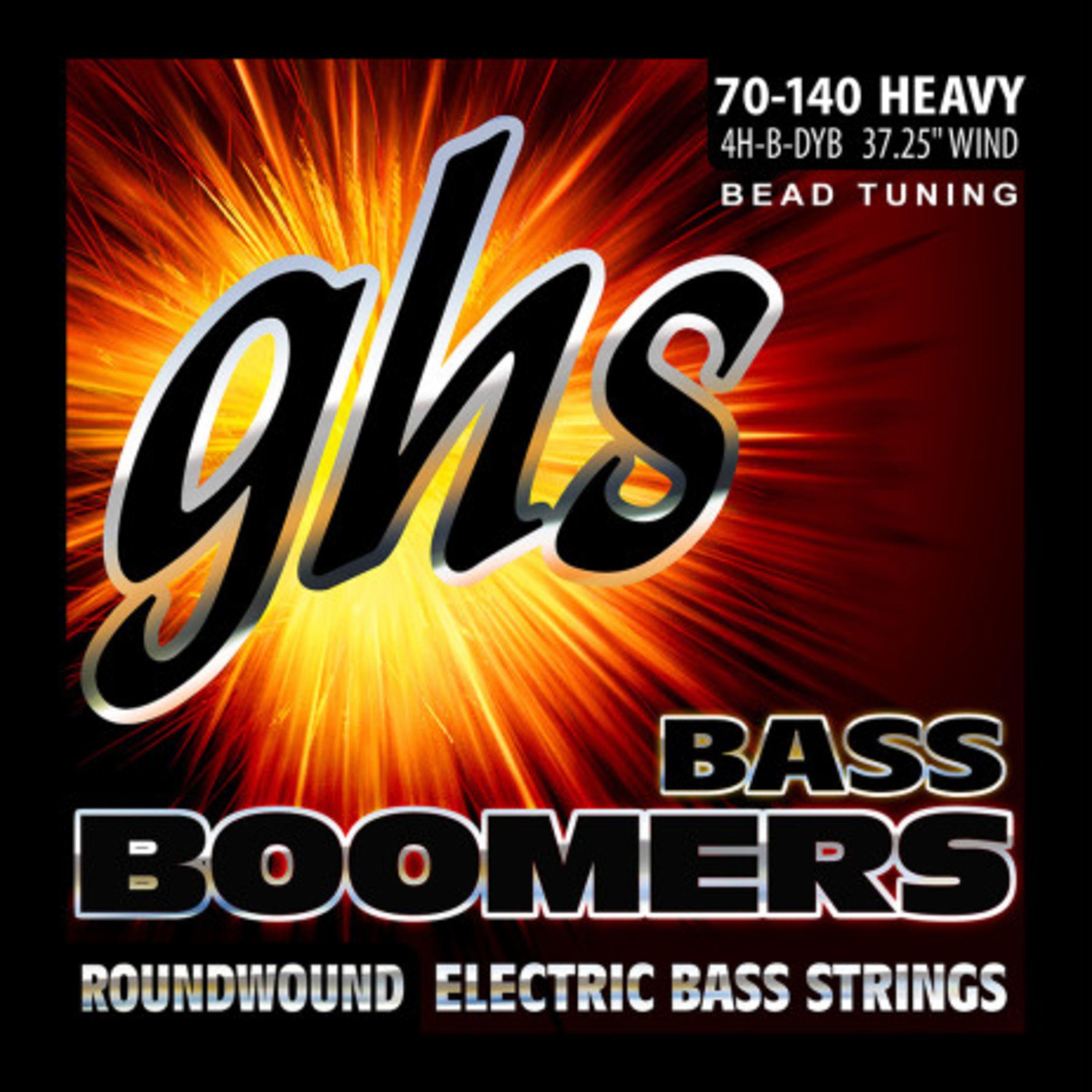 GHS - 4H-B-DYB BEAD Tuned Bass Boomers GHS 3045 4/H B DYB