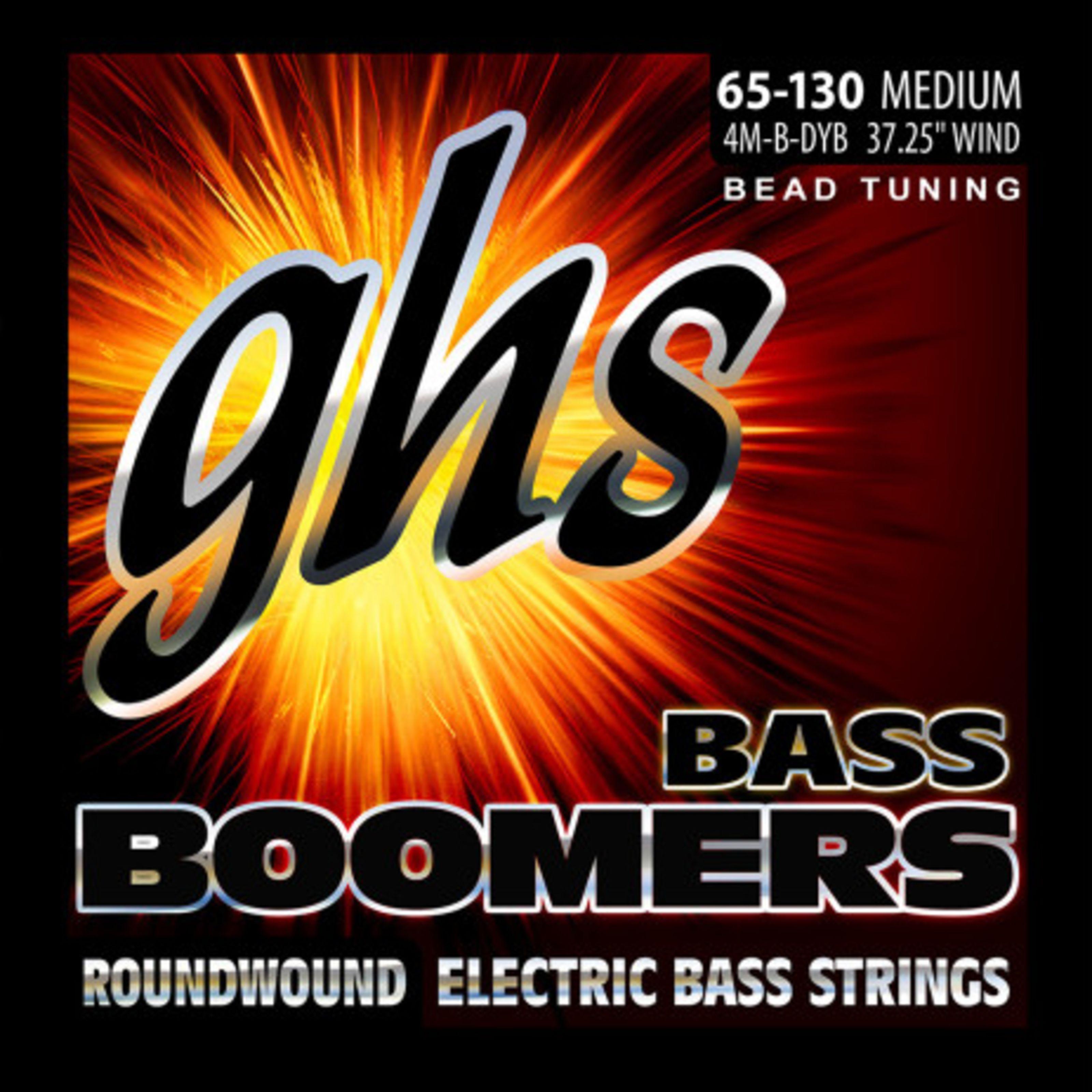 GHS - 4M-B-DYB BEAD Tuned Bass Boomers GHS 3045 4/M B DYB