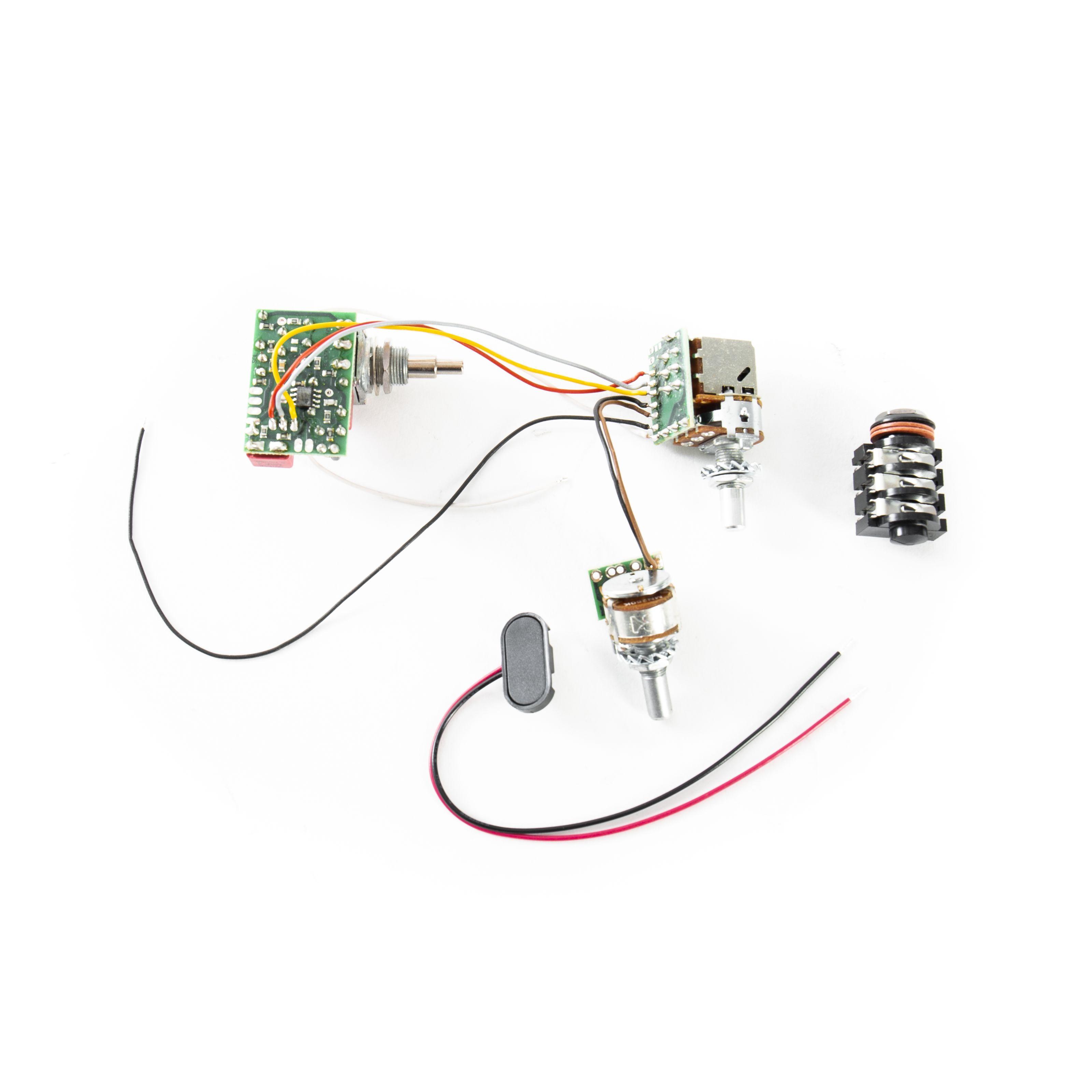 Glockenklang - 2 Band Elektronik stacked kein Hi-Cut bei passiv 2BandElektronikstack