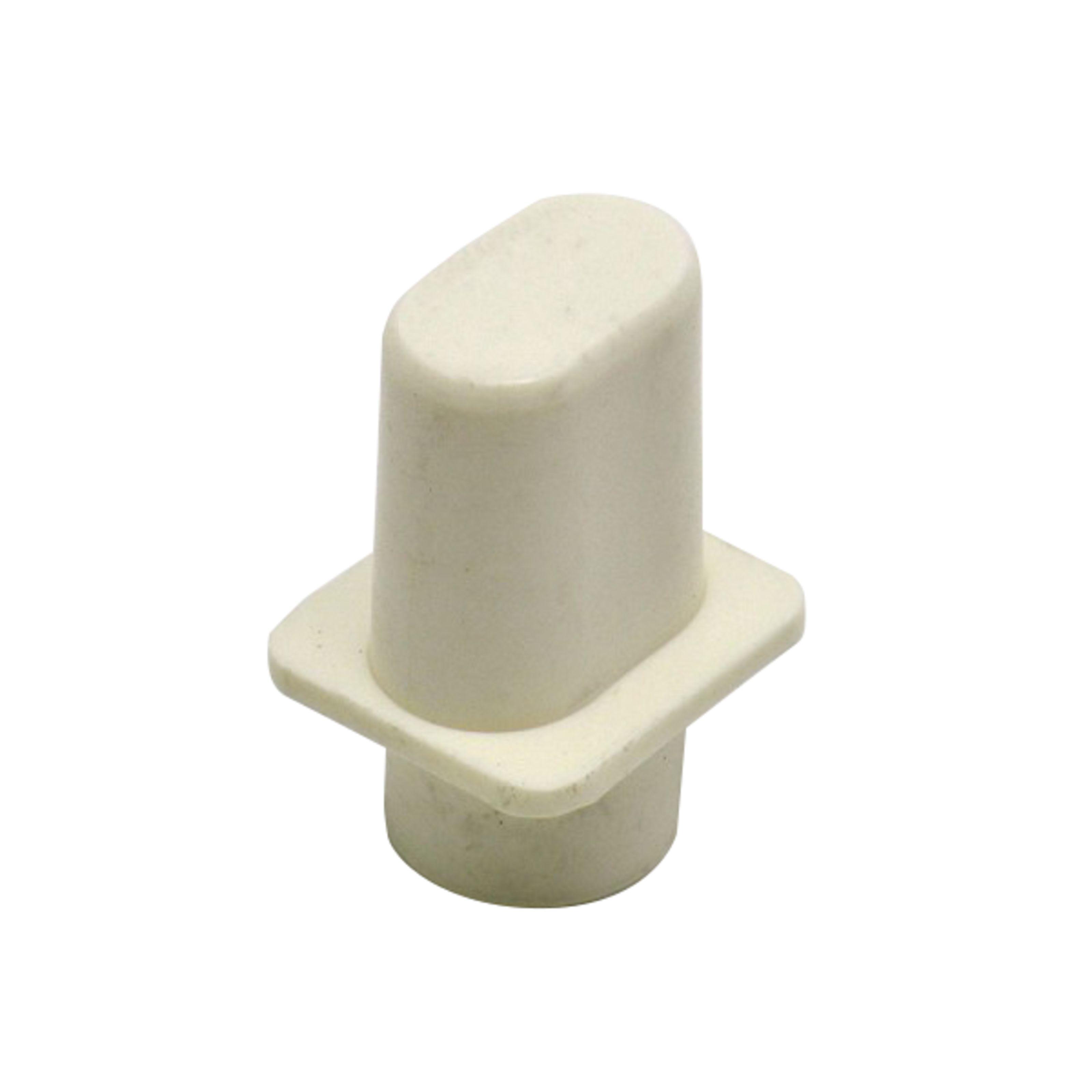 Göldo - ELT1W Knopf Tele-Schalter Weiß
