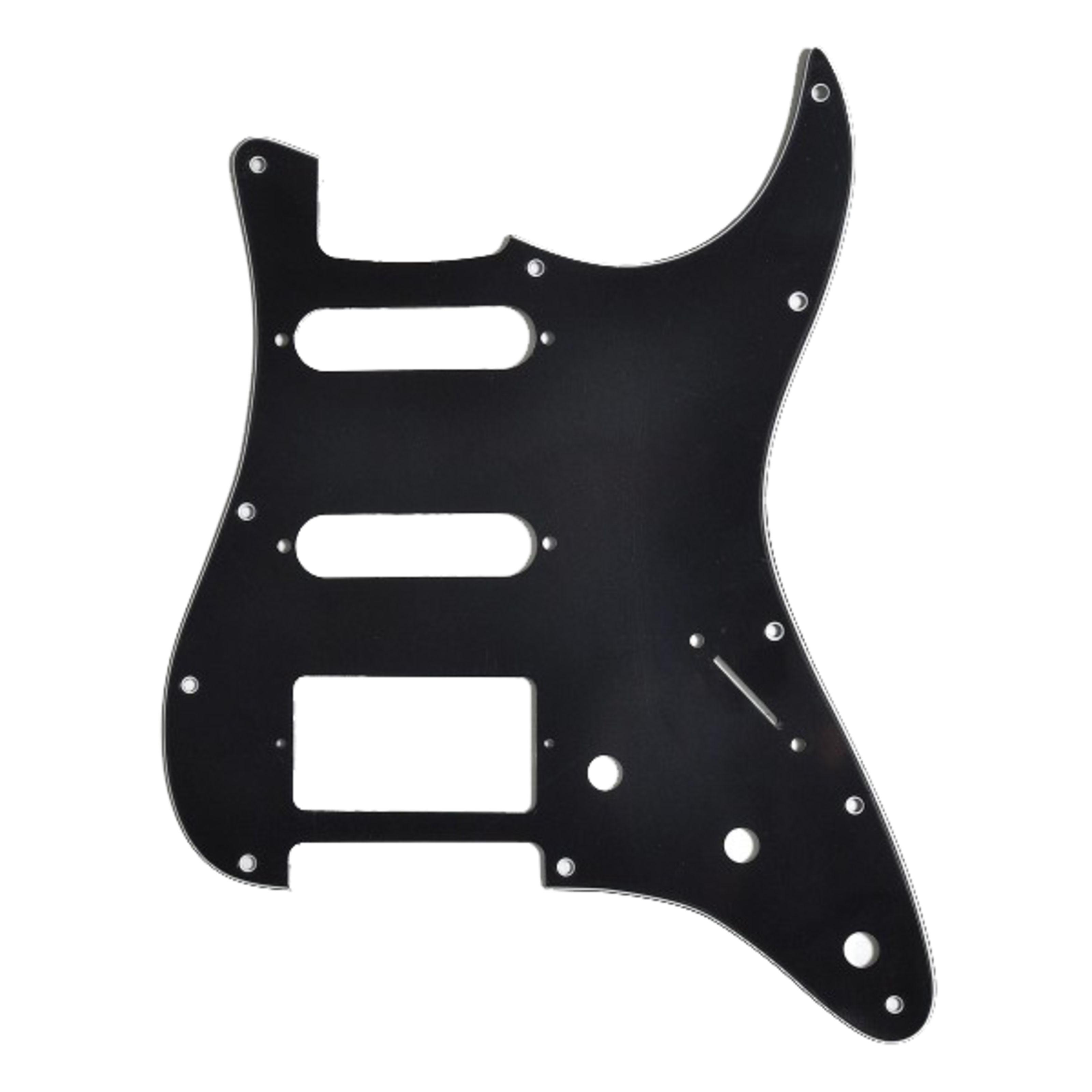 Göldo - Pickguard für HSS ST-Style Black Schlagbrett PG13B