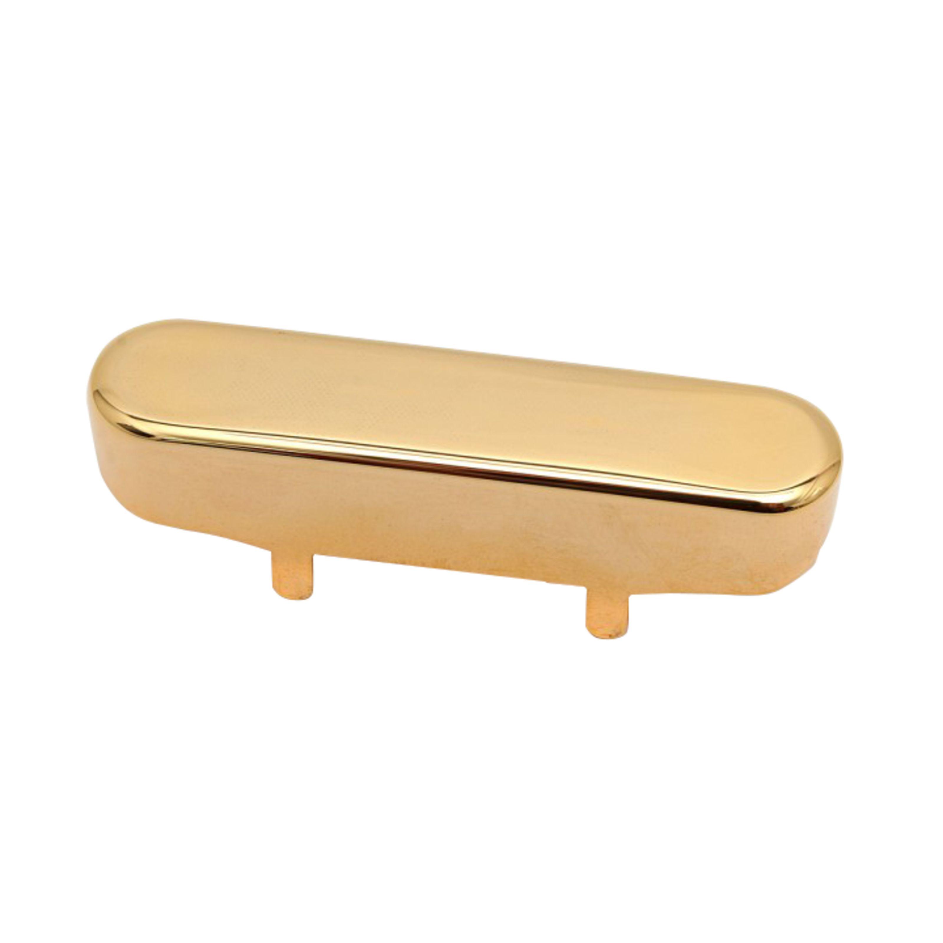 Göldo - T-Style PU-Kappe Neusilber Neck, Gold PNSTG