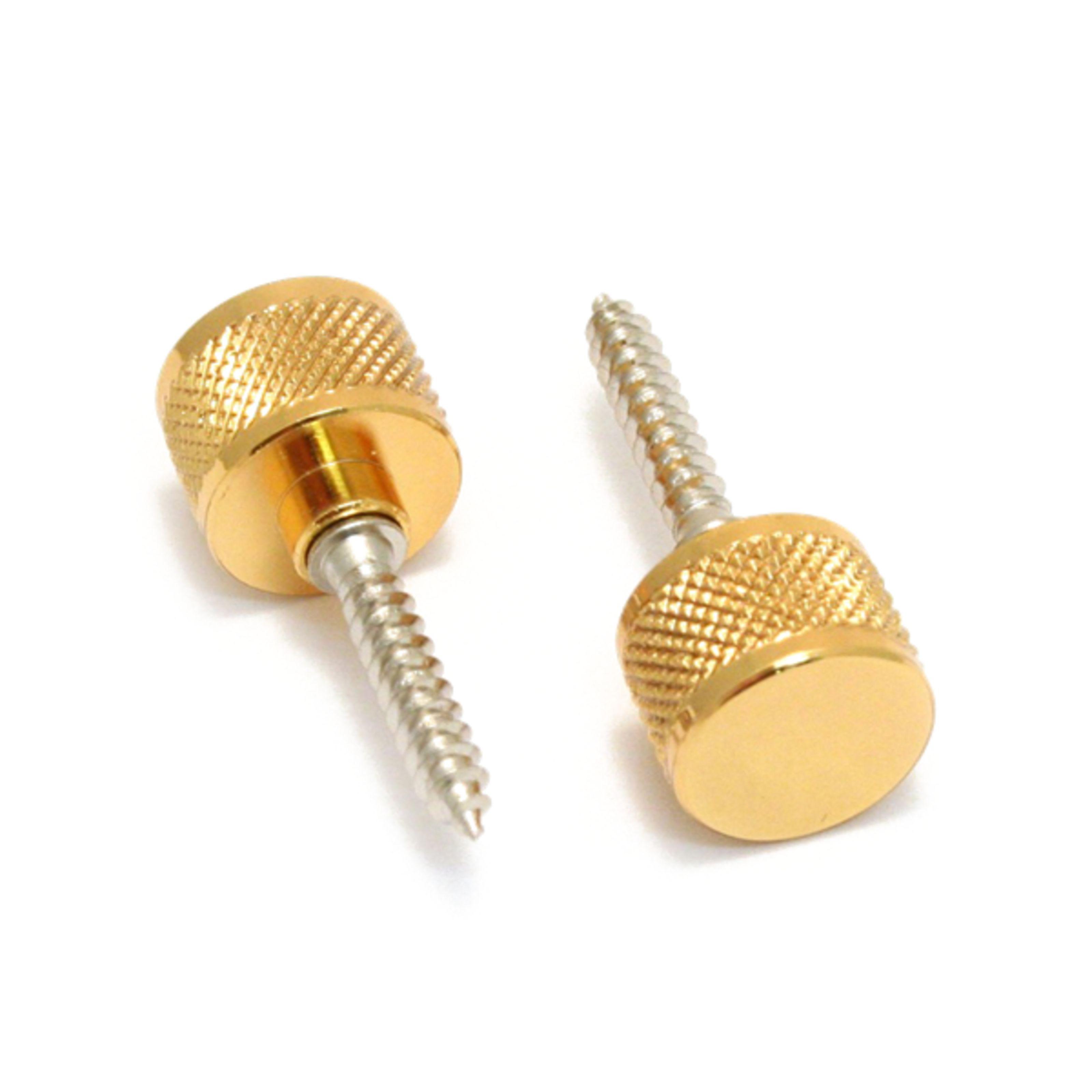Gretsch - Gurtknopf inkl. Schraube Gold, 2 Stück 9221029000