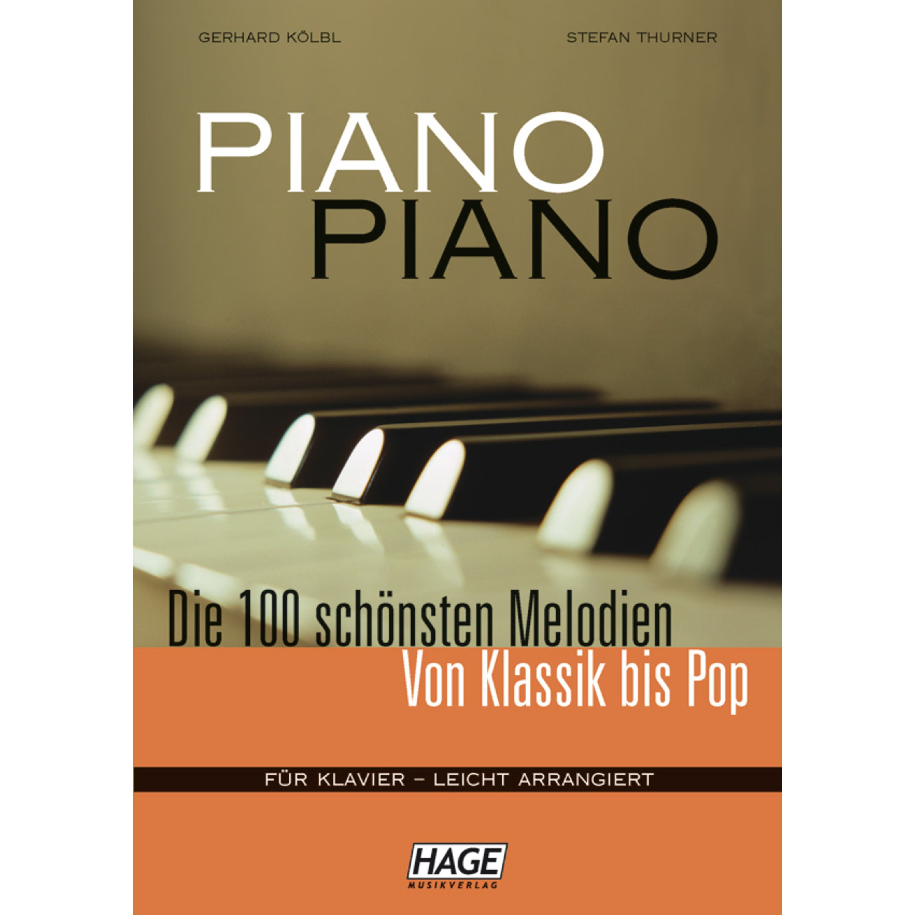 Hage Musikverlag - Piano Piano 1 EH 3633