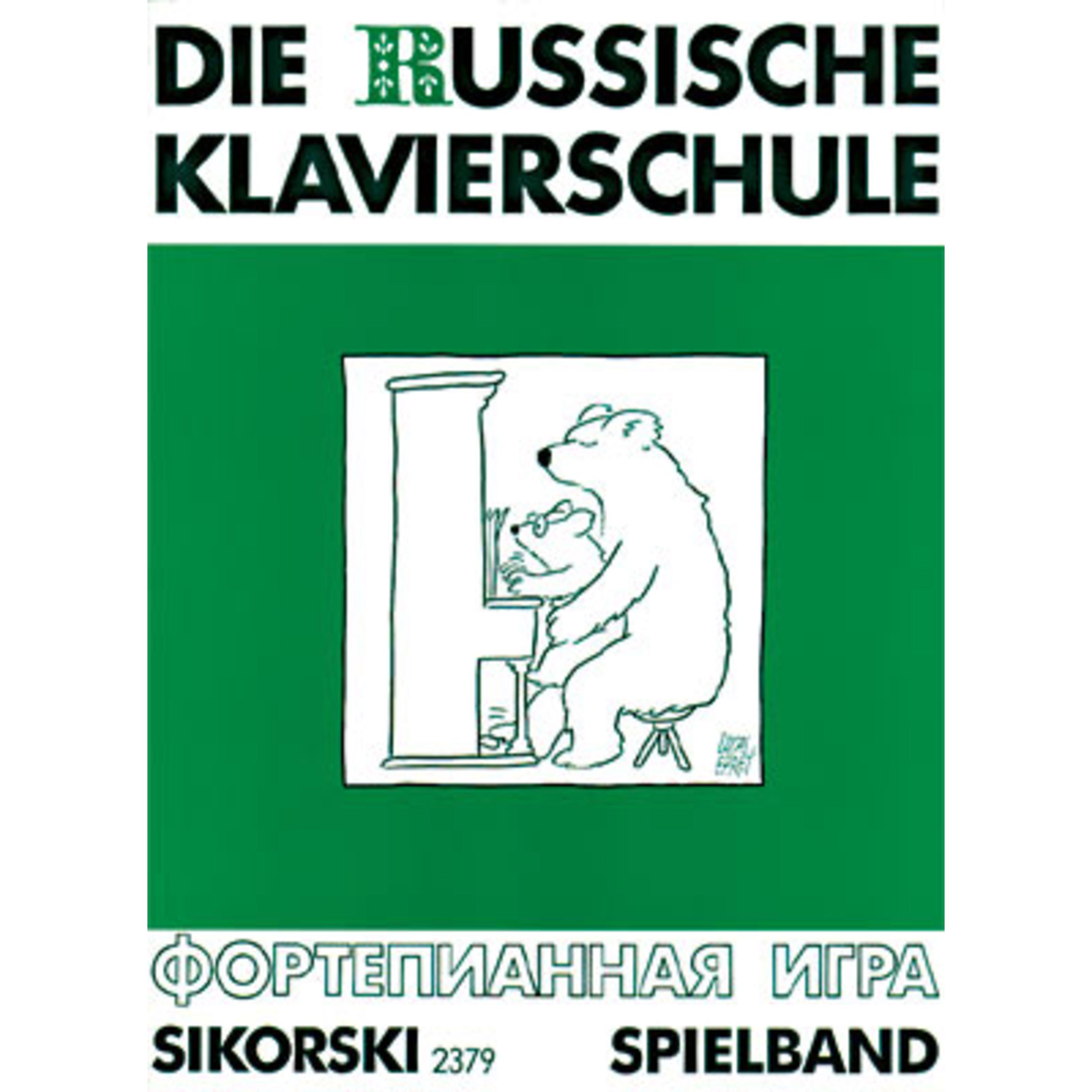 Hans Sikorski - Die Russische Klavierschule 3 Spielband SIK 2379