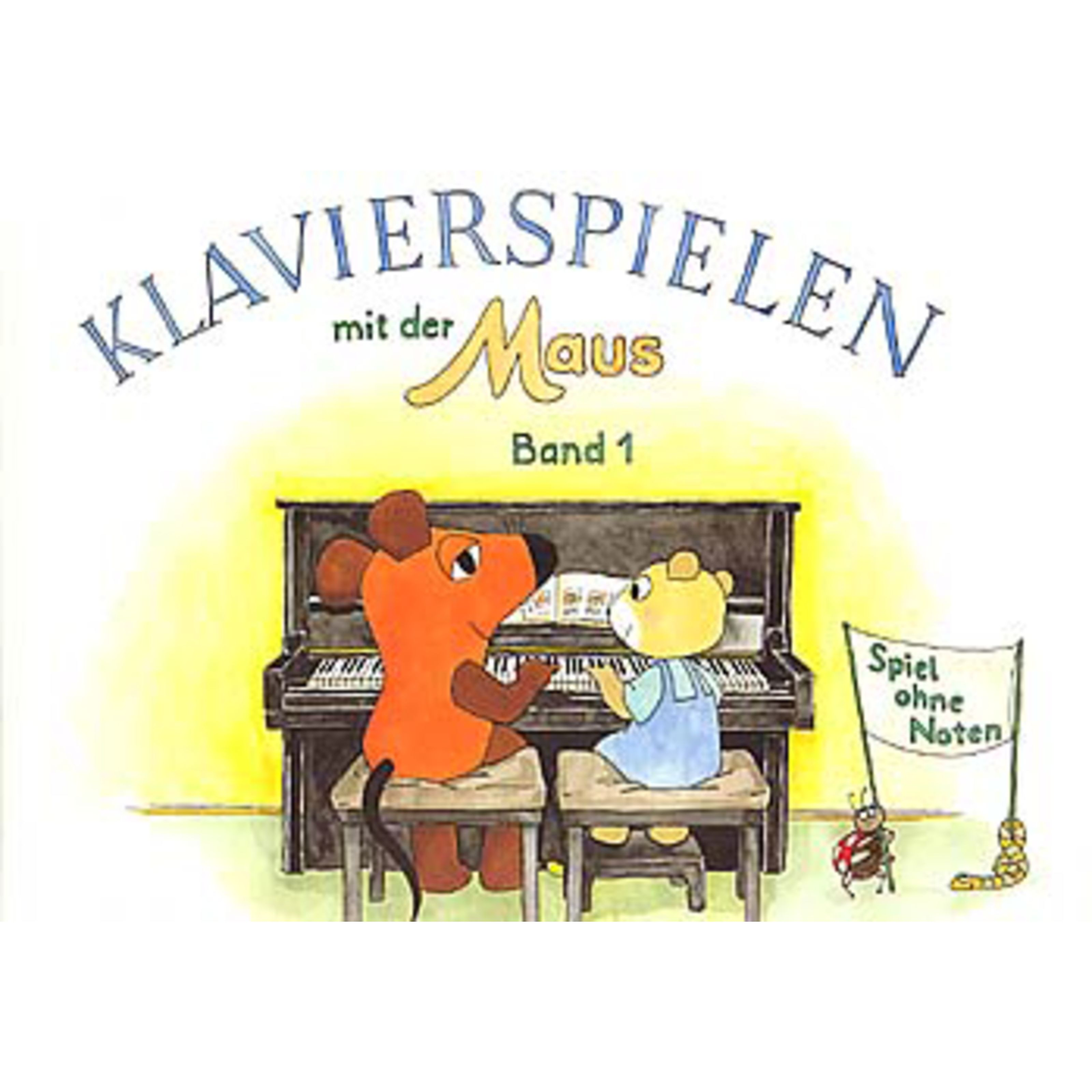 Hans Sikorski - Klavierspielen mit der Maus 1 Schwedhelm-Klavier ohne Noten SIK 1190