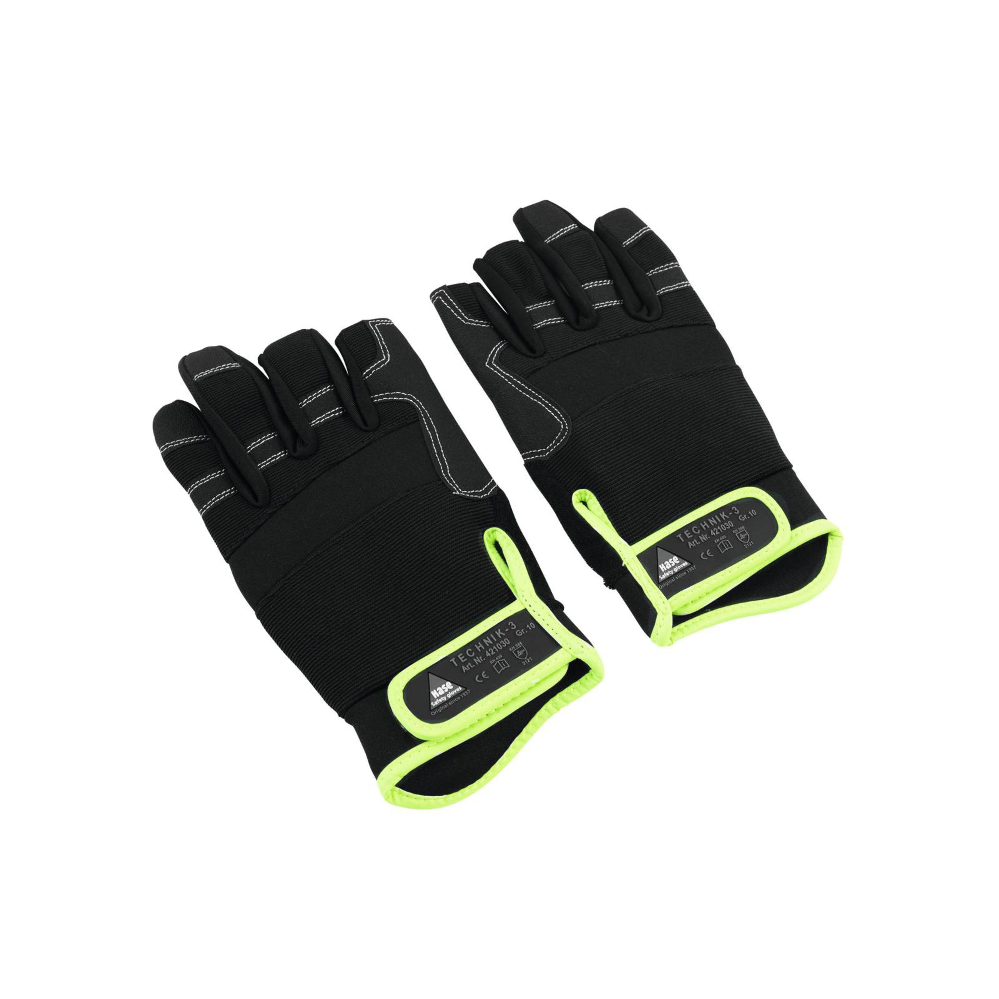 Hase - Handschuh 3 Finger, Größe XL Roadie-Handschuh Size 10 78020403