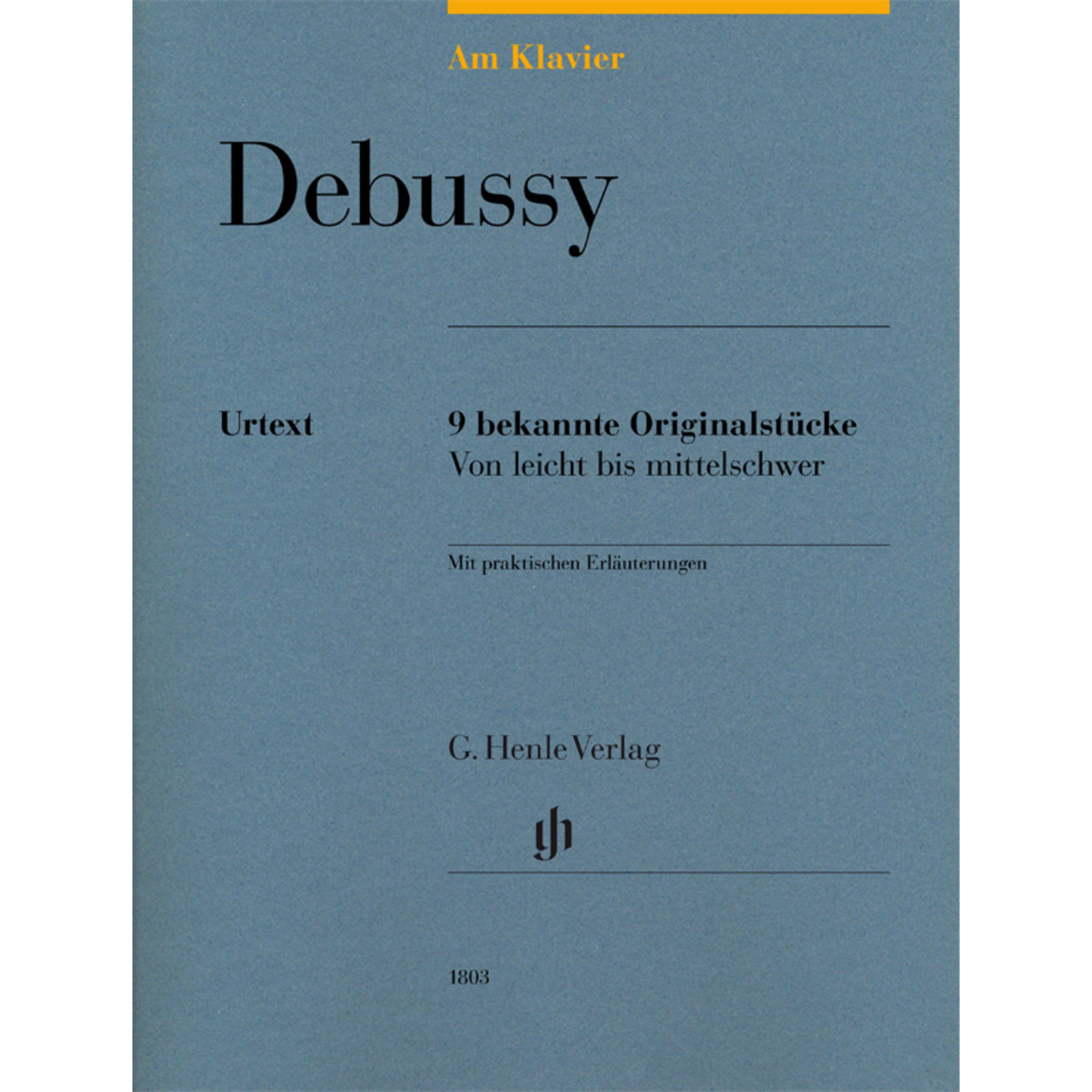 Henle Verlag - Claude Debussy: Am Klavier HN 1803