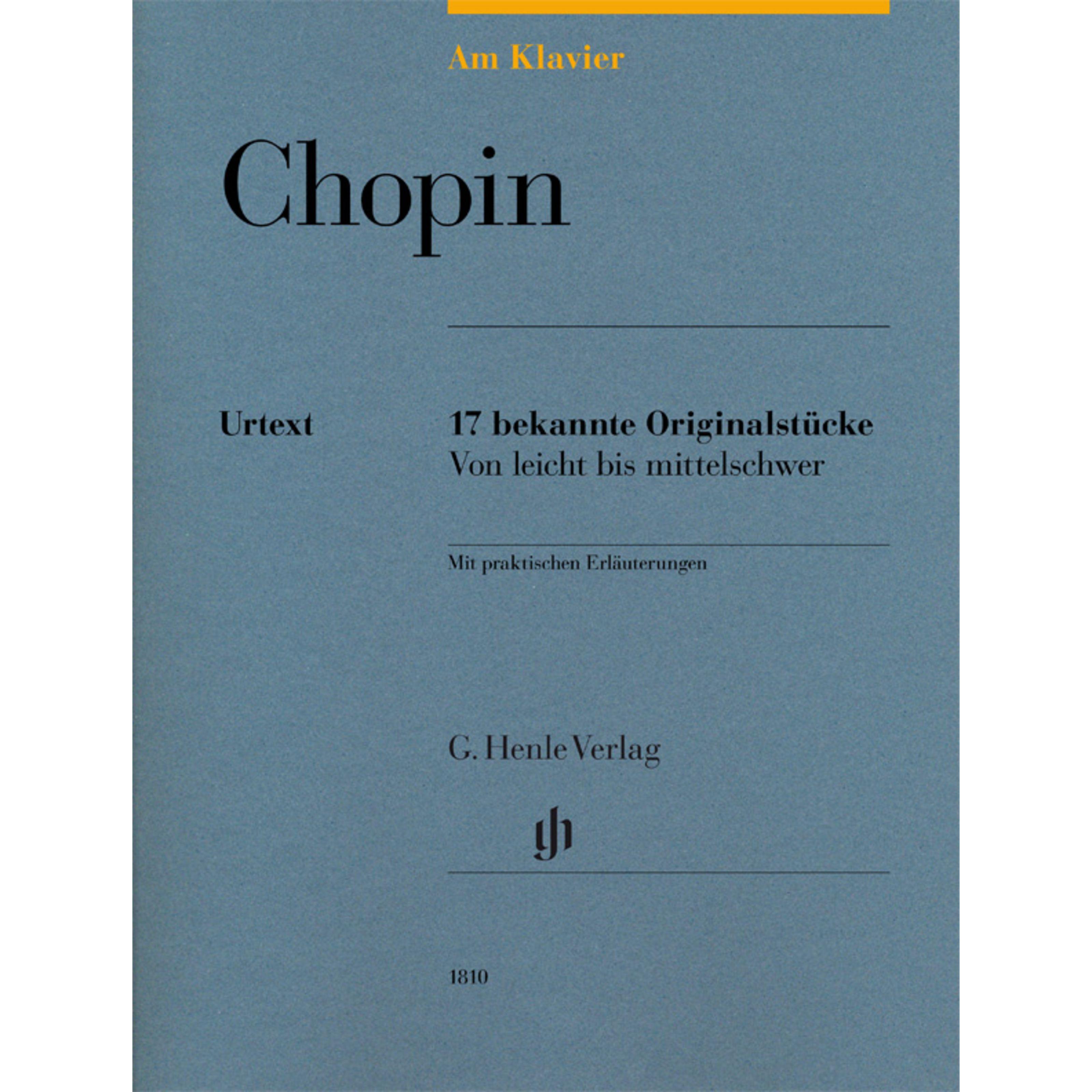 Henle Verlag - Frederic Chopin: Am Klavier HN 1810