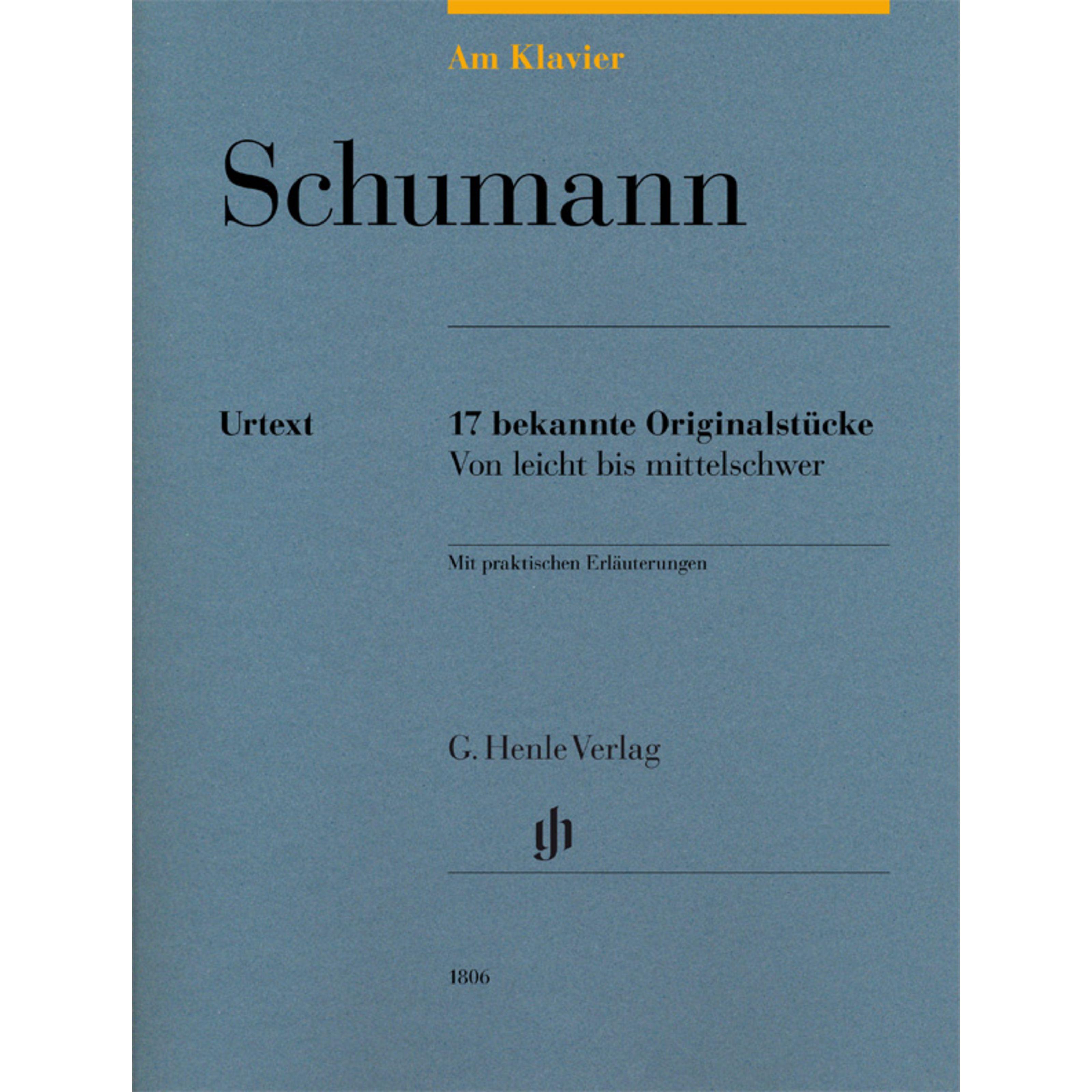Henle Verlag - Robert Schumann: Am Klavier HN 1806