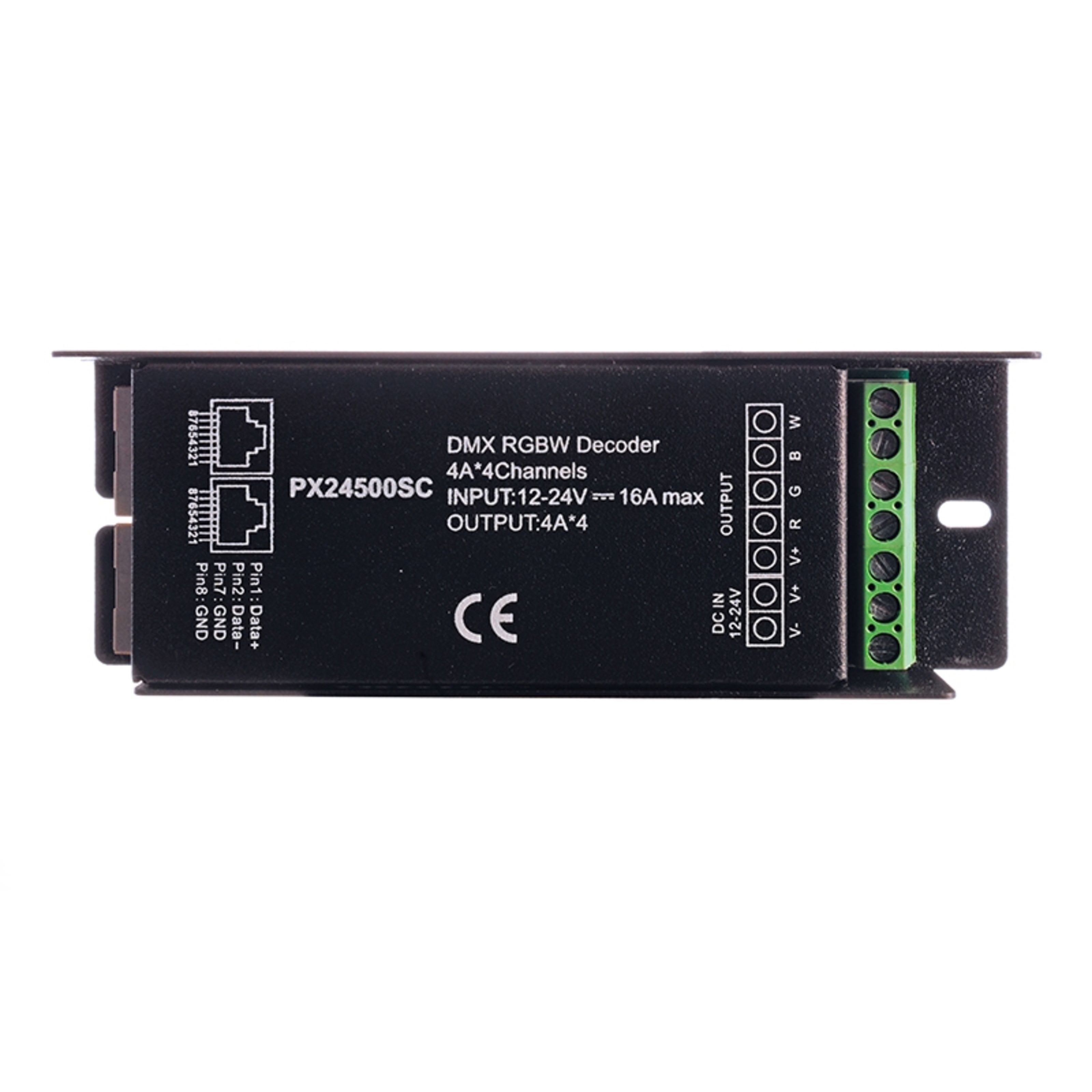 KAPEGO - Driver LED Dimmer R-DMX 3+1 4 Kanal LED Controller 12-24V 113545