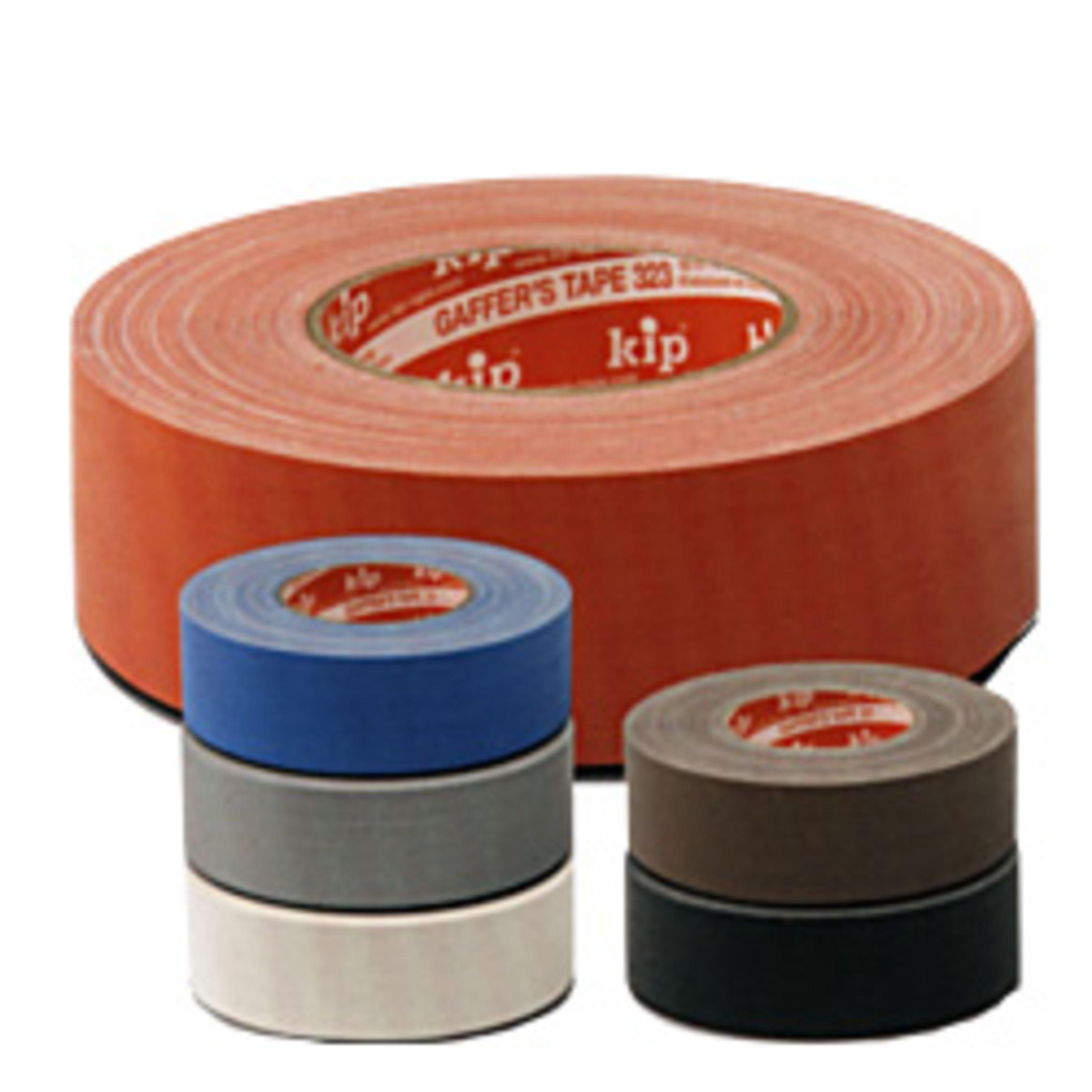 kip Klebebänder - 323 Gaffer's Tape grau 323-45