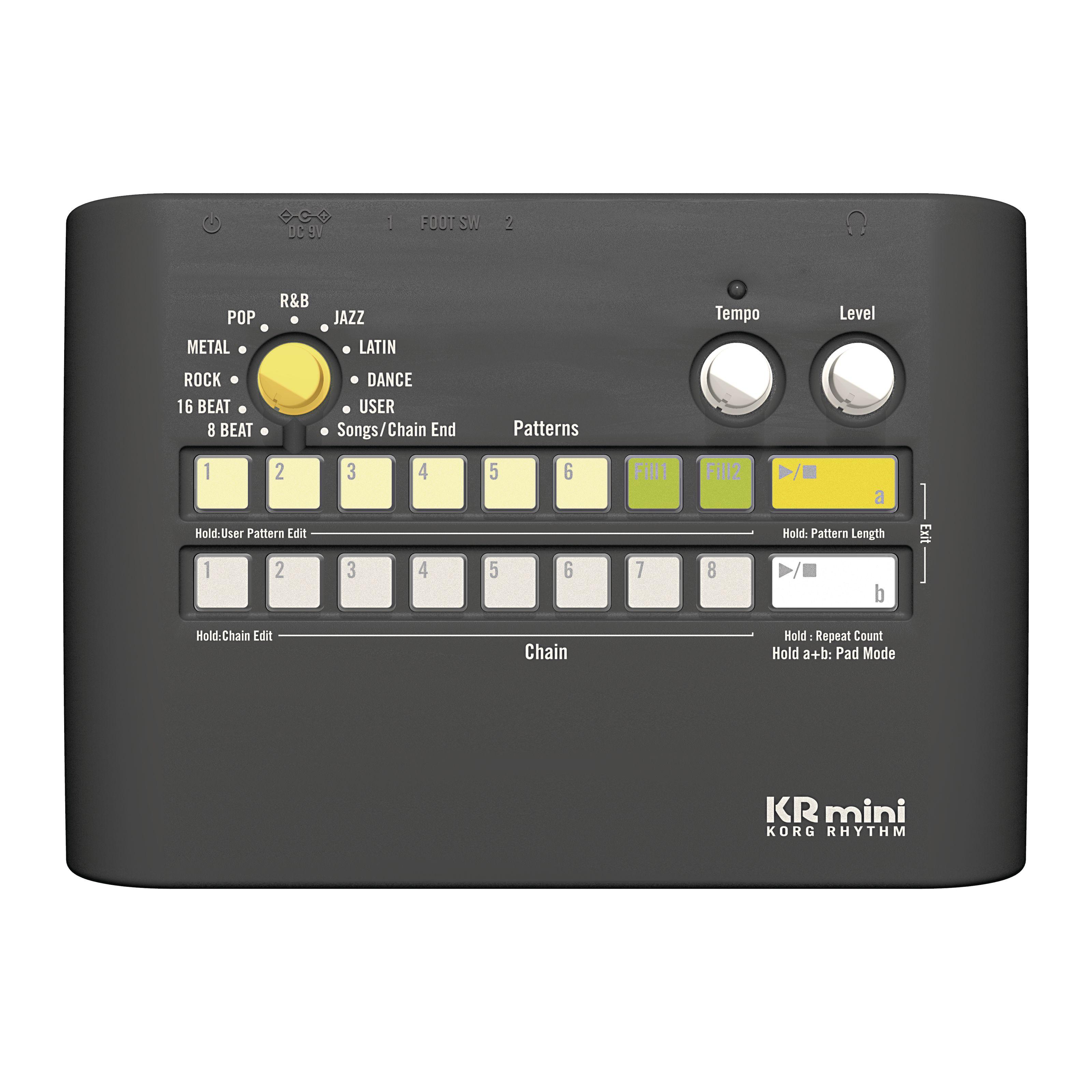 Korg - KR mini Drumcomputer KRKRmini