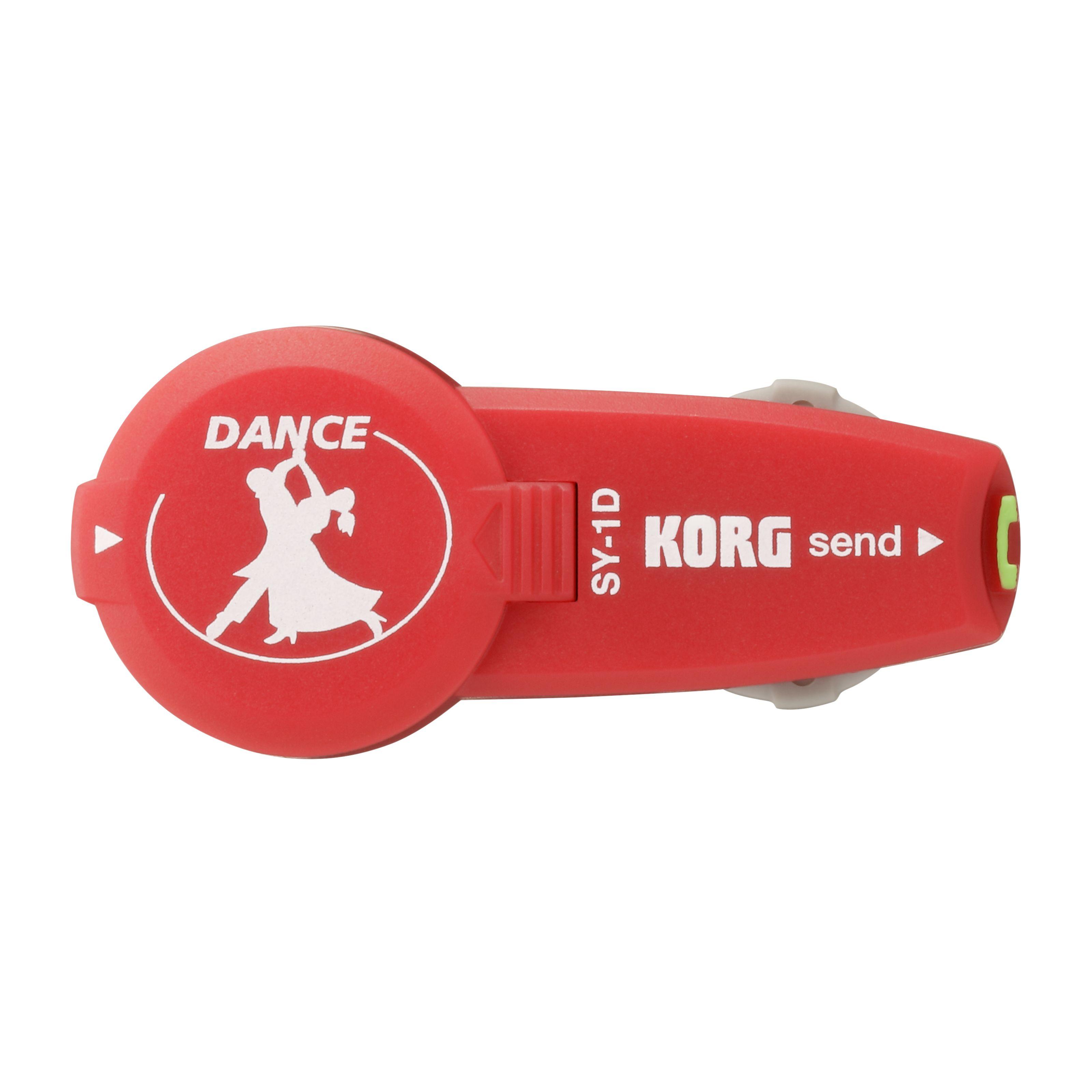 Korg - SY-1D In-Ear Metronom rot für Tänzer