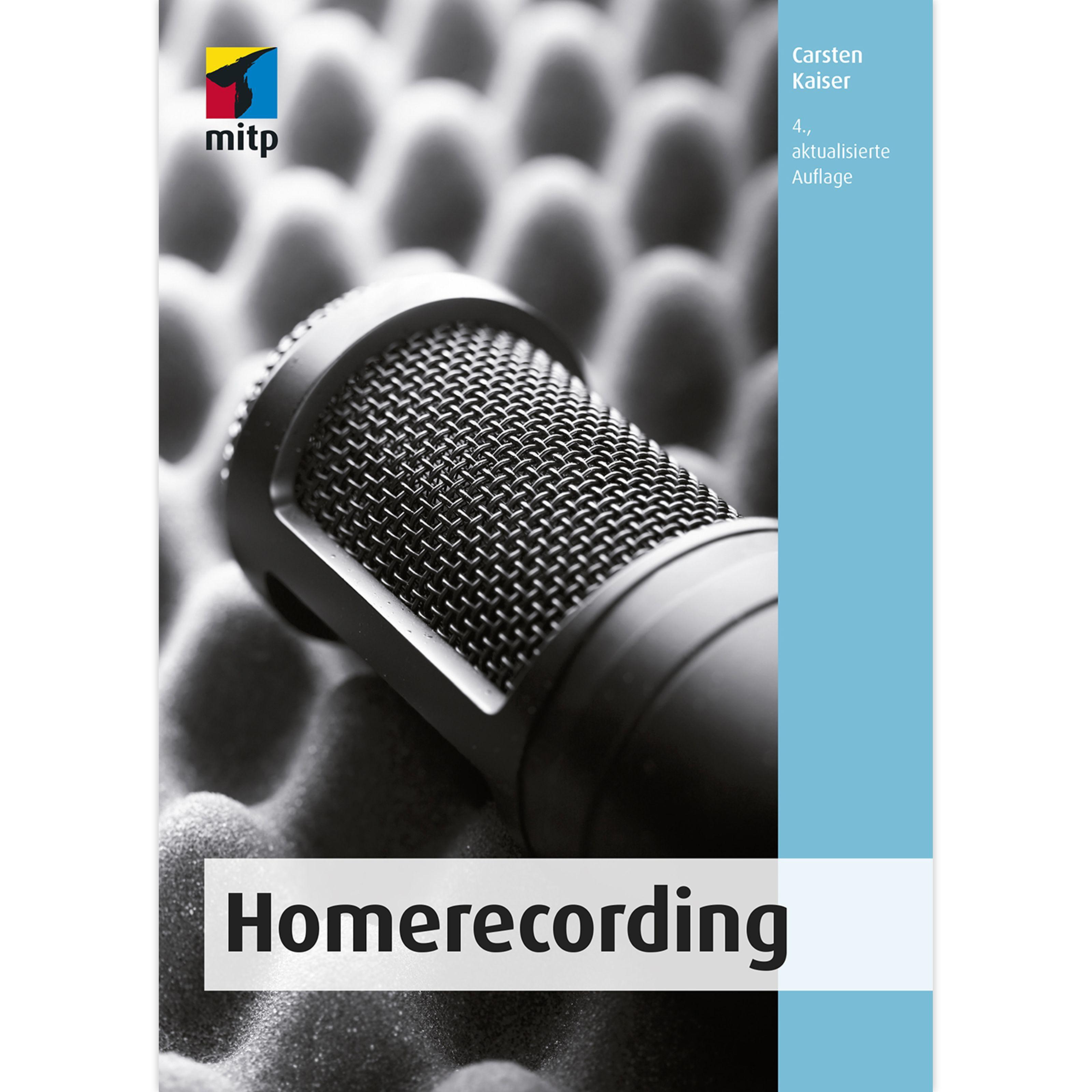 mitp Verlag - Homerecording 9783958458192