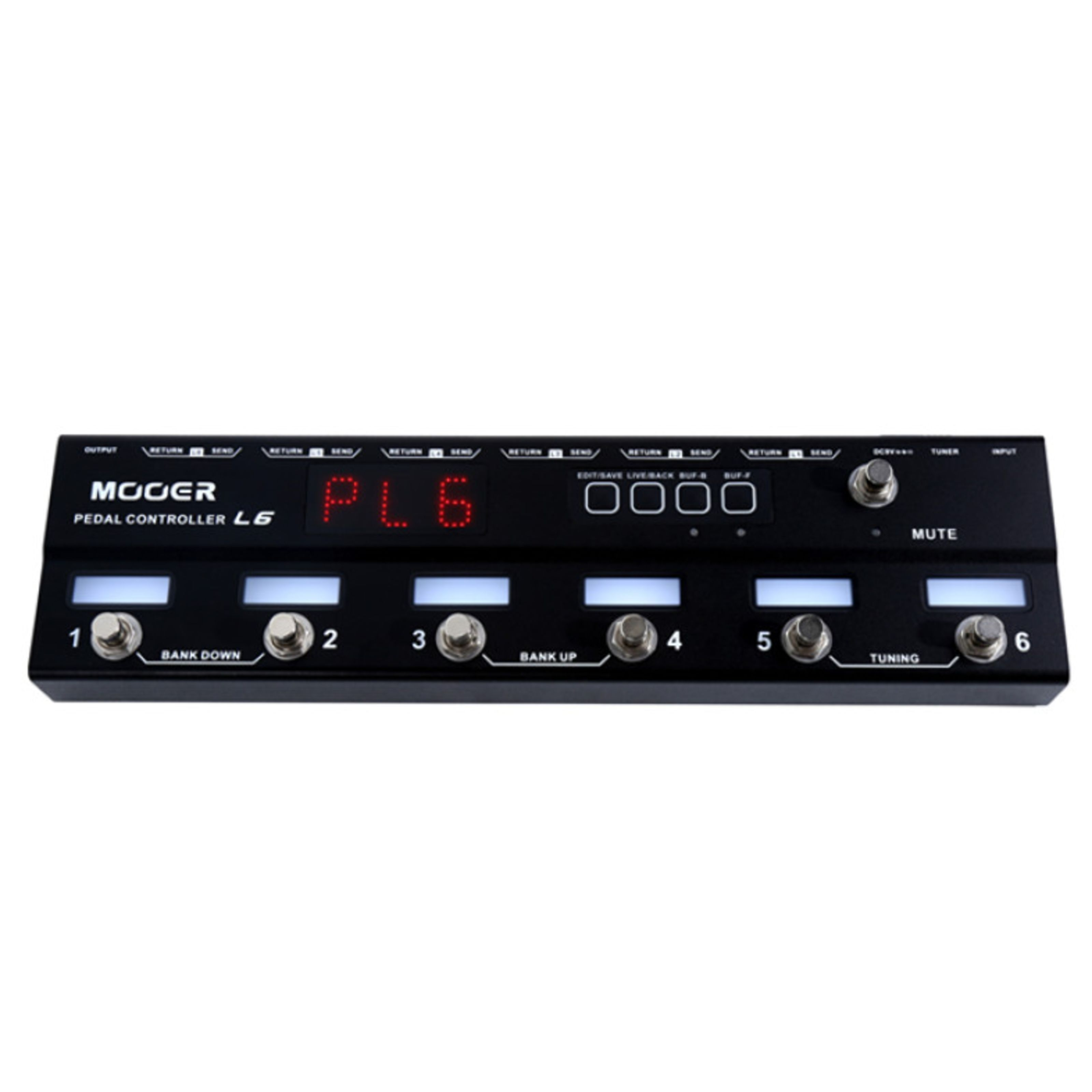Mooer Audio - Pedal Controller Loop 6 ME PC L6