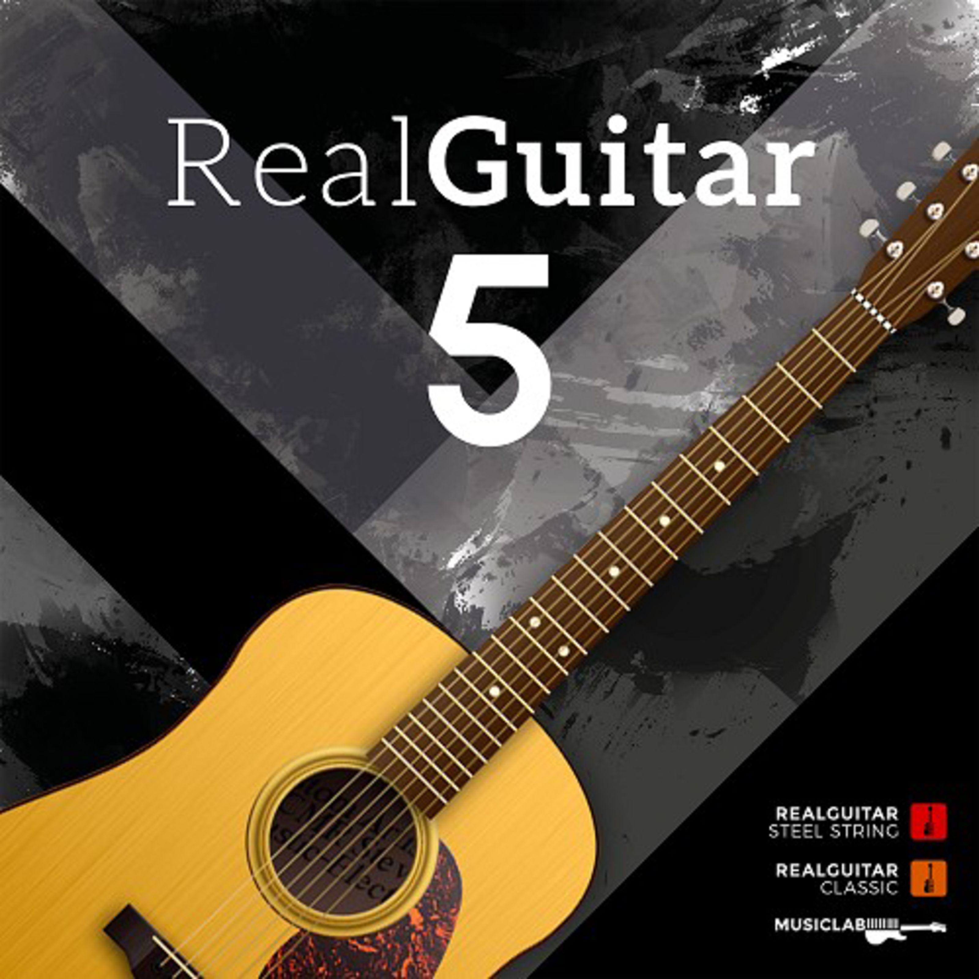 MusicLab - RealGuitar 5 (Download) Box 0075896
