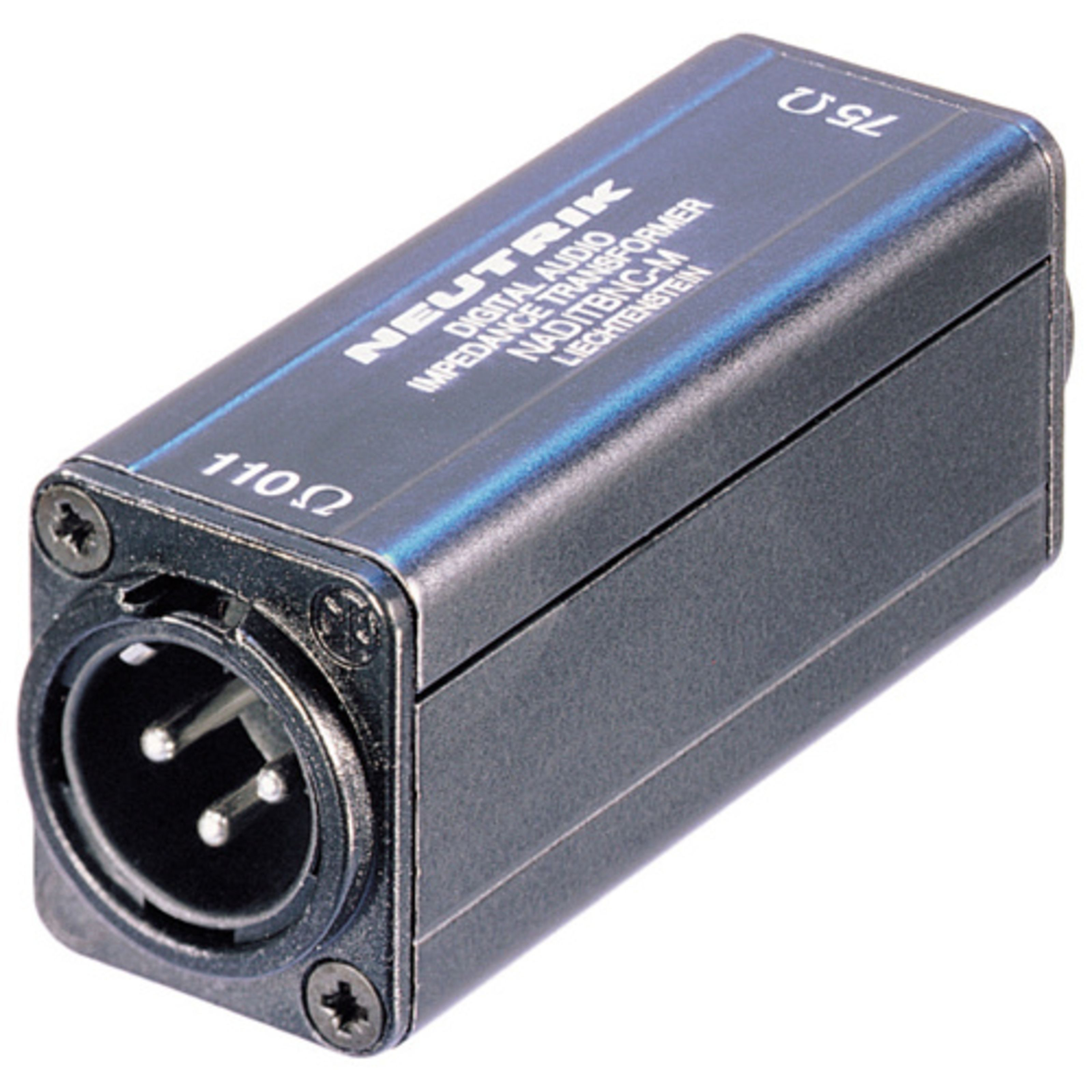 Neutrik - NADITBNC-M AES/EBU Impedanzwandler