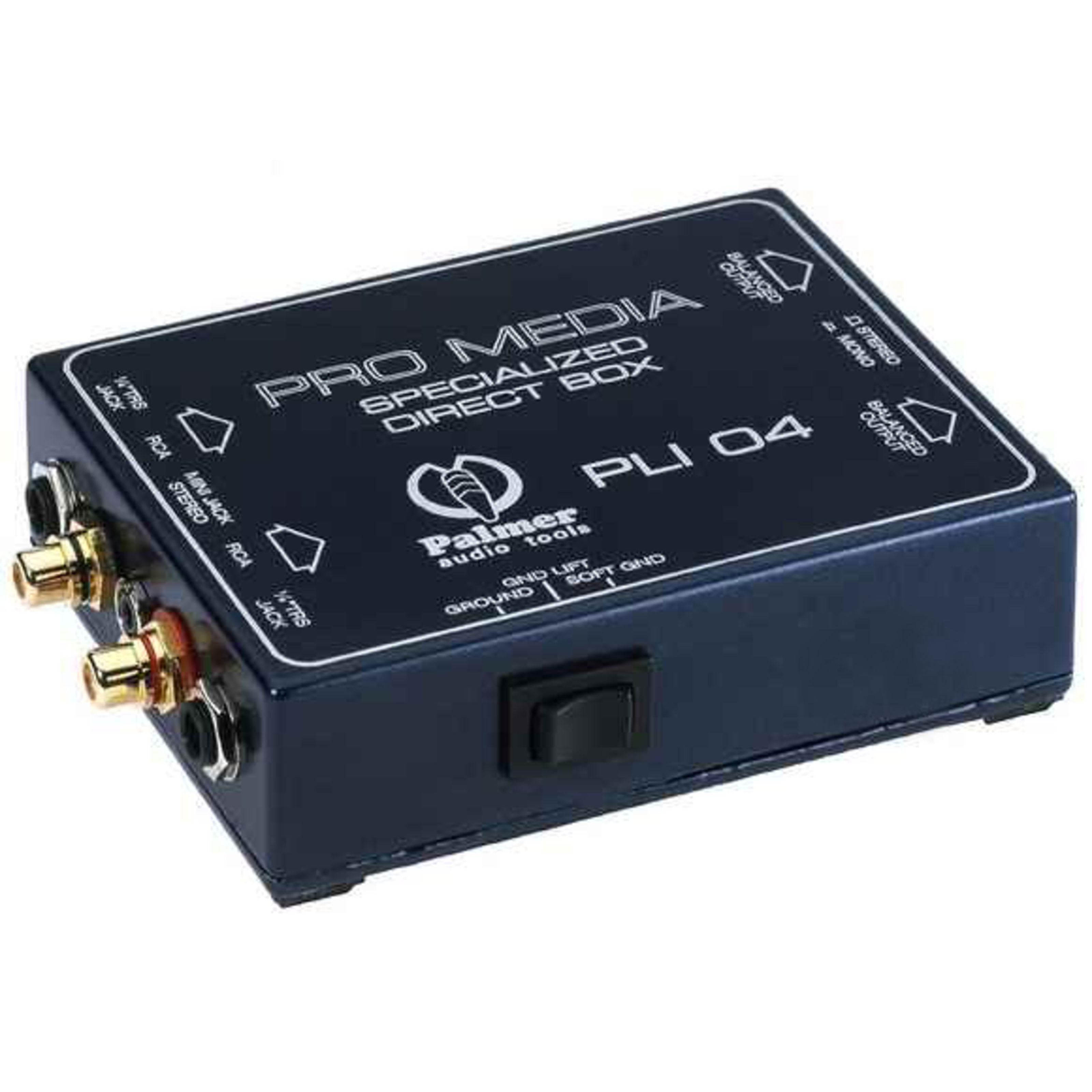 Palmer - PLI 04 Media DI-Box für PC und Laptop PLI04