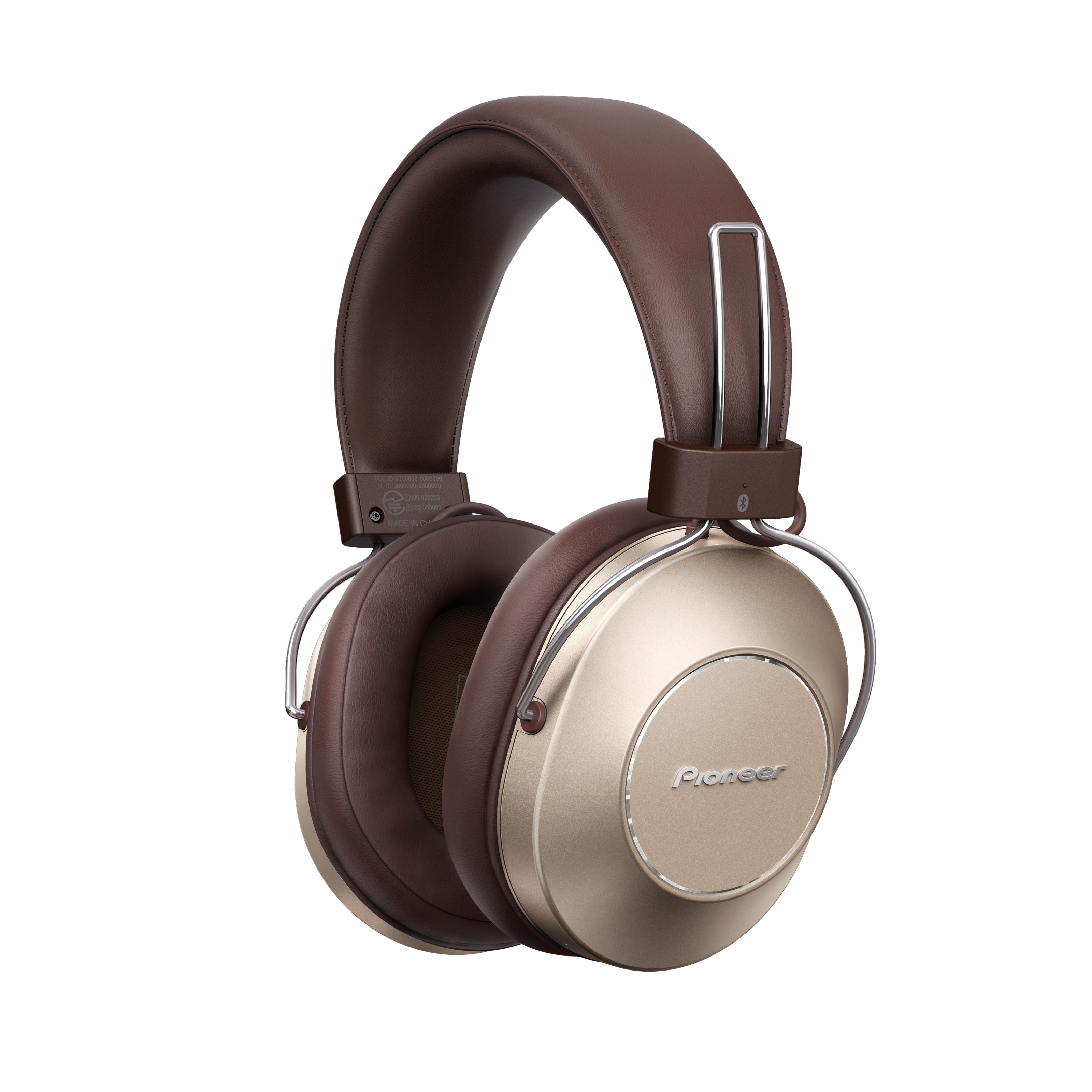 Pioneer - SE-MS9BN-G Gold Wireless Noise Cancelling