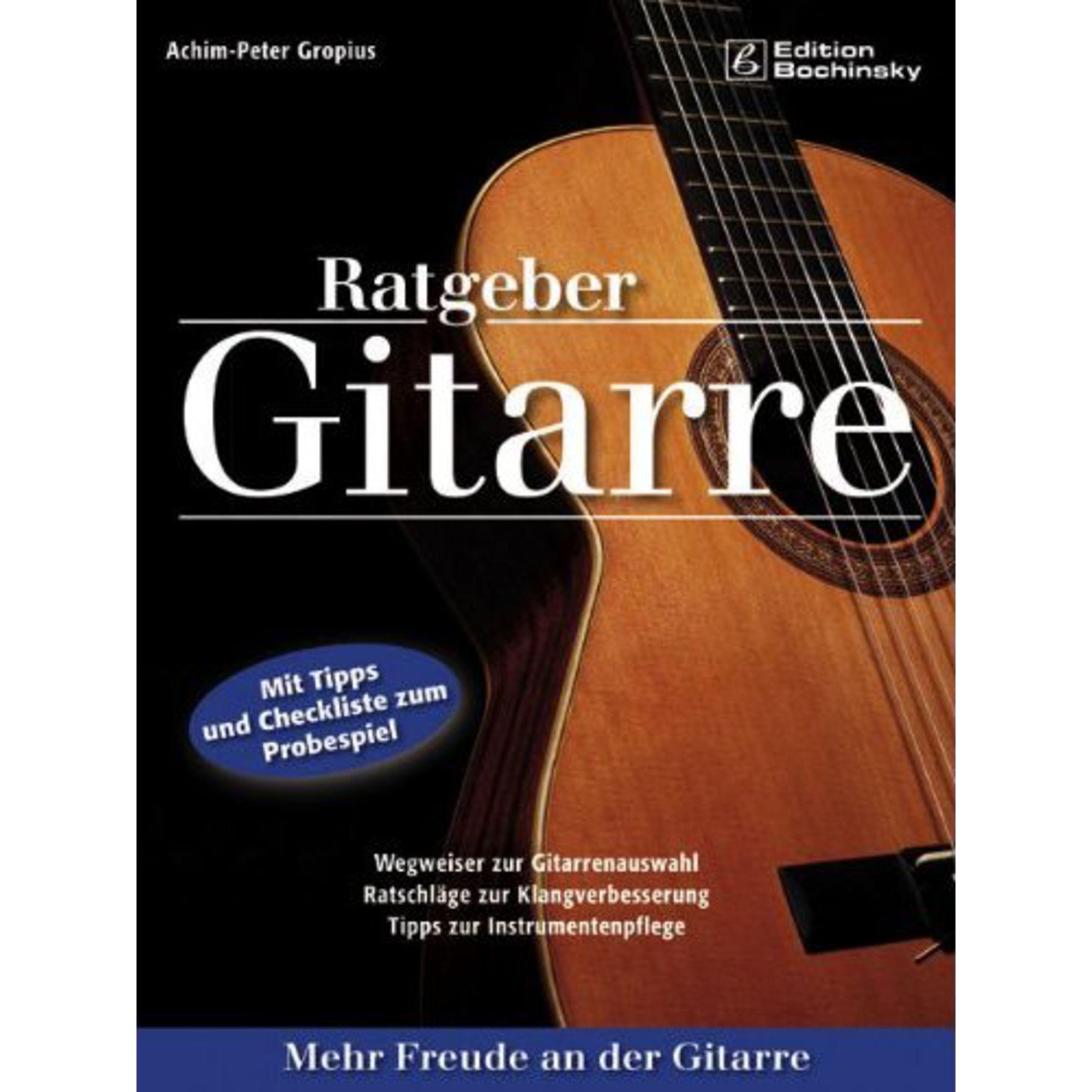 PPV Medien - Ratgeber Gitarre Achim Peter Gropius, Buch 20046354