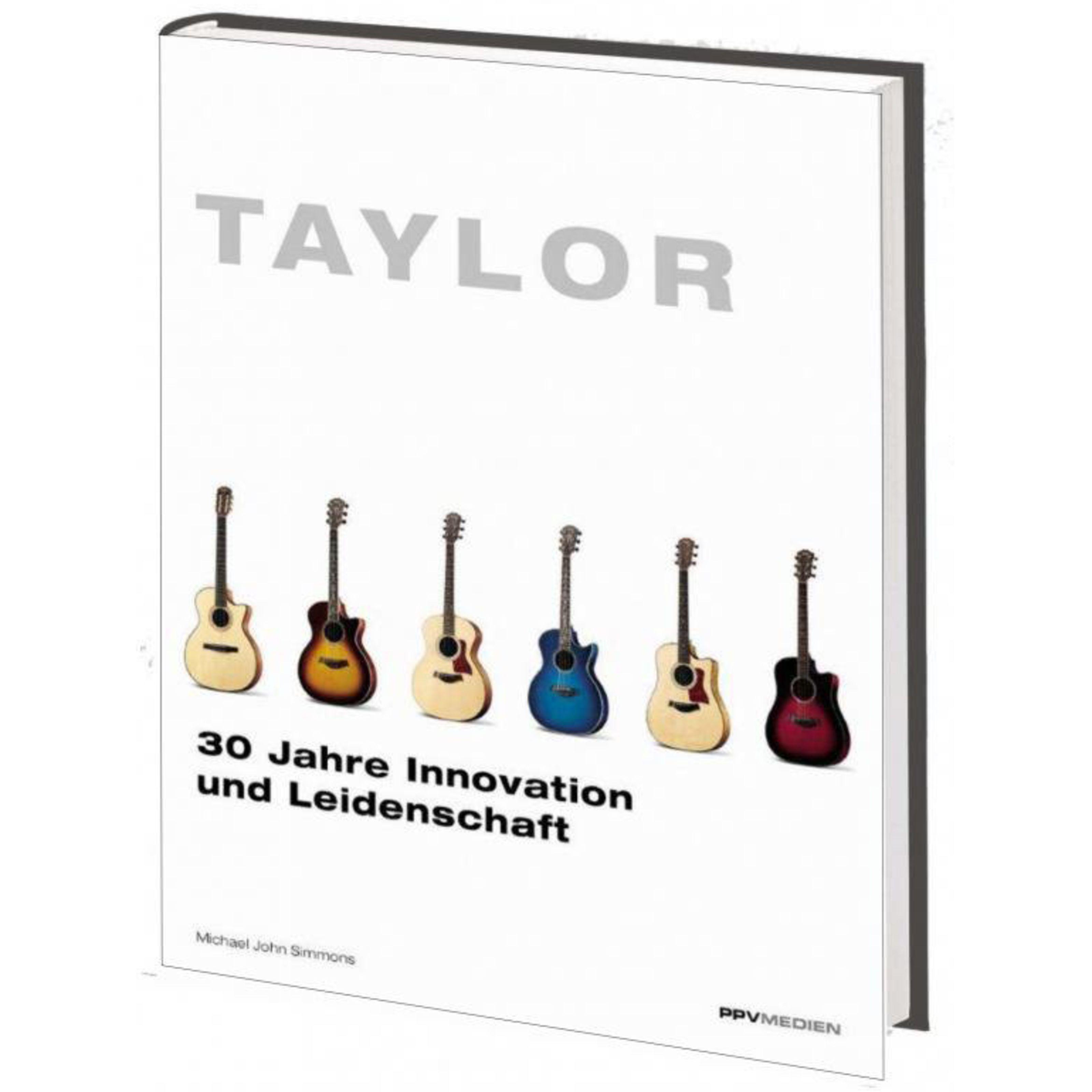 PPV Medien - Taylor-Gitarren 978-3-932275-80-7