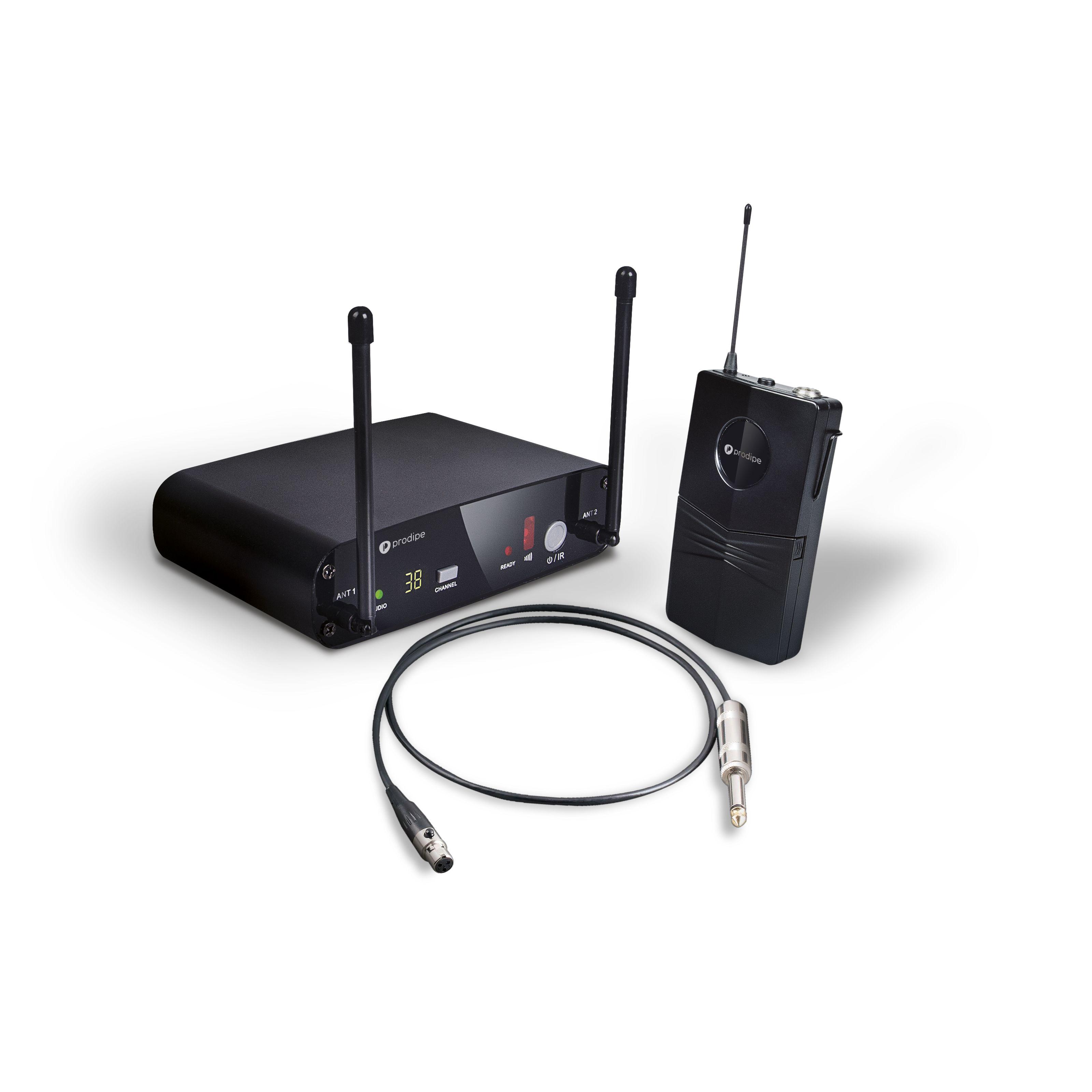 Prodipe - Funksystem für Gitarre & Bass PA-UHFGB210