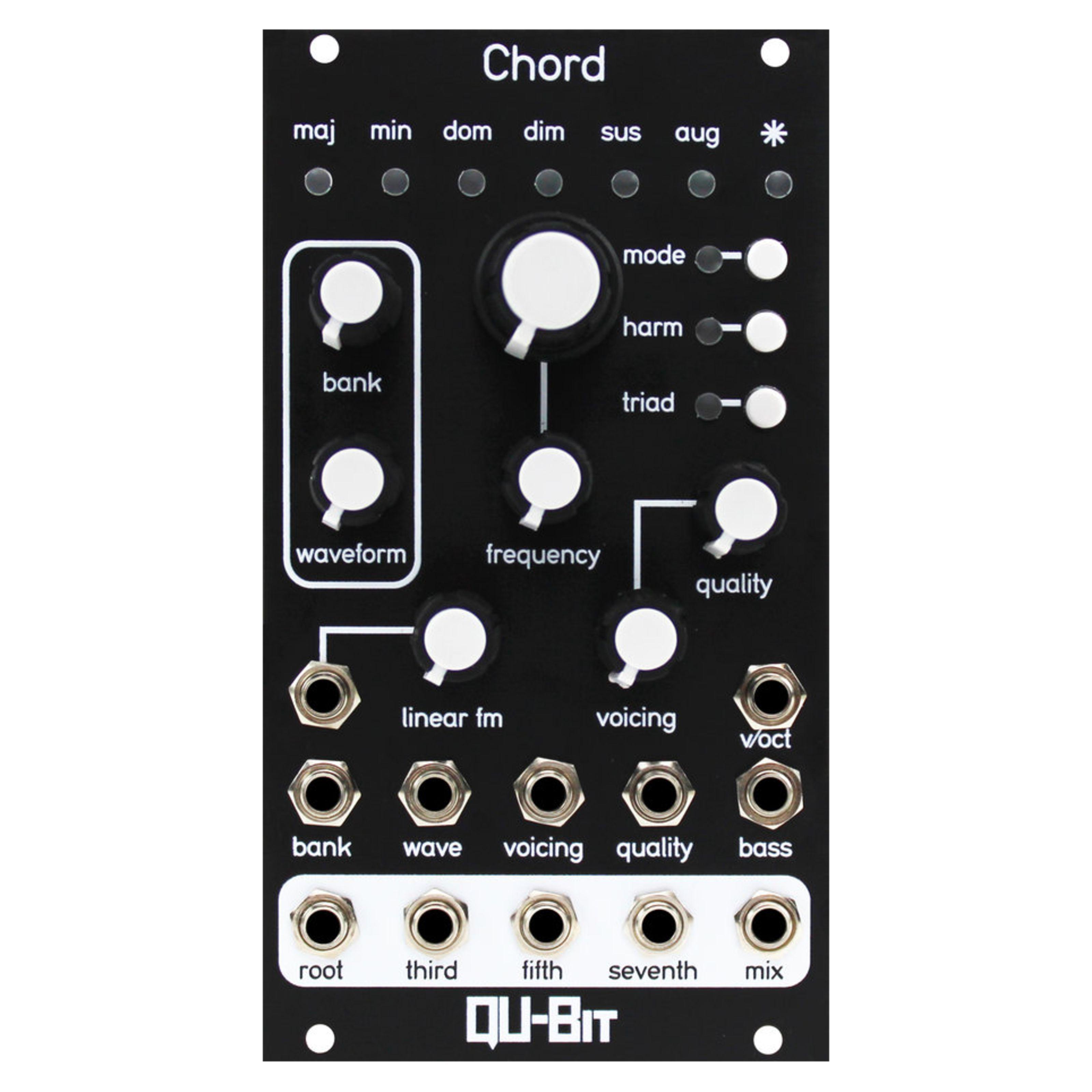 QU-Bit - Chord v2 QB_Chord v2_black