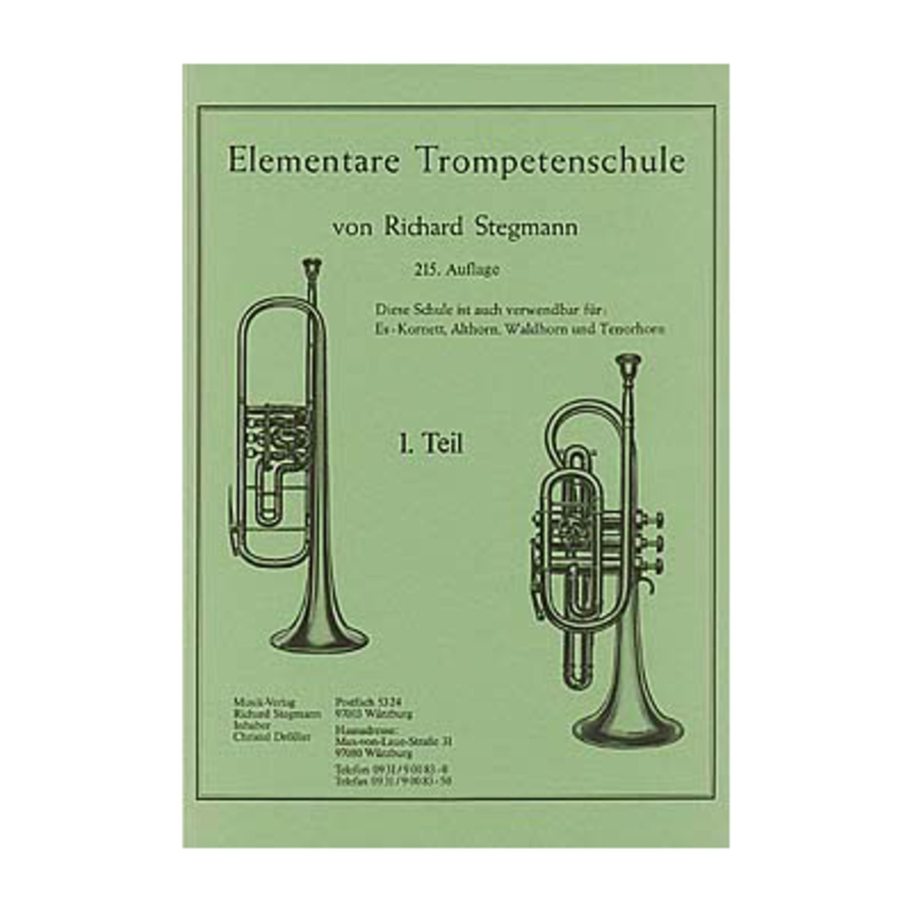 Richard Stegmann - Elementare Trompetenschule 1 Richard Stegmann Stegmann 1 / 107788