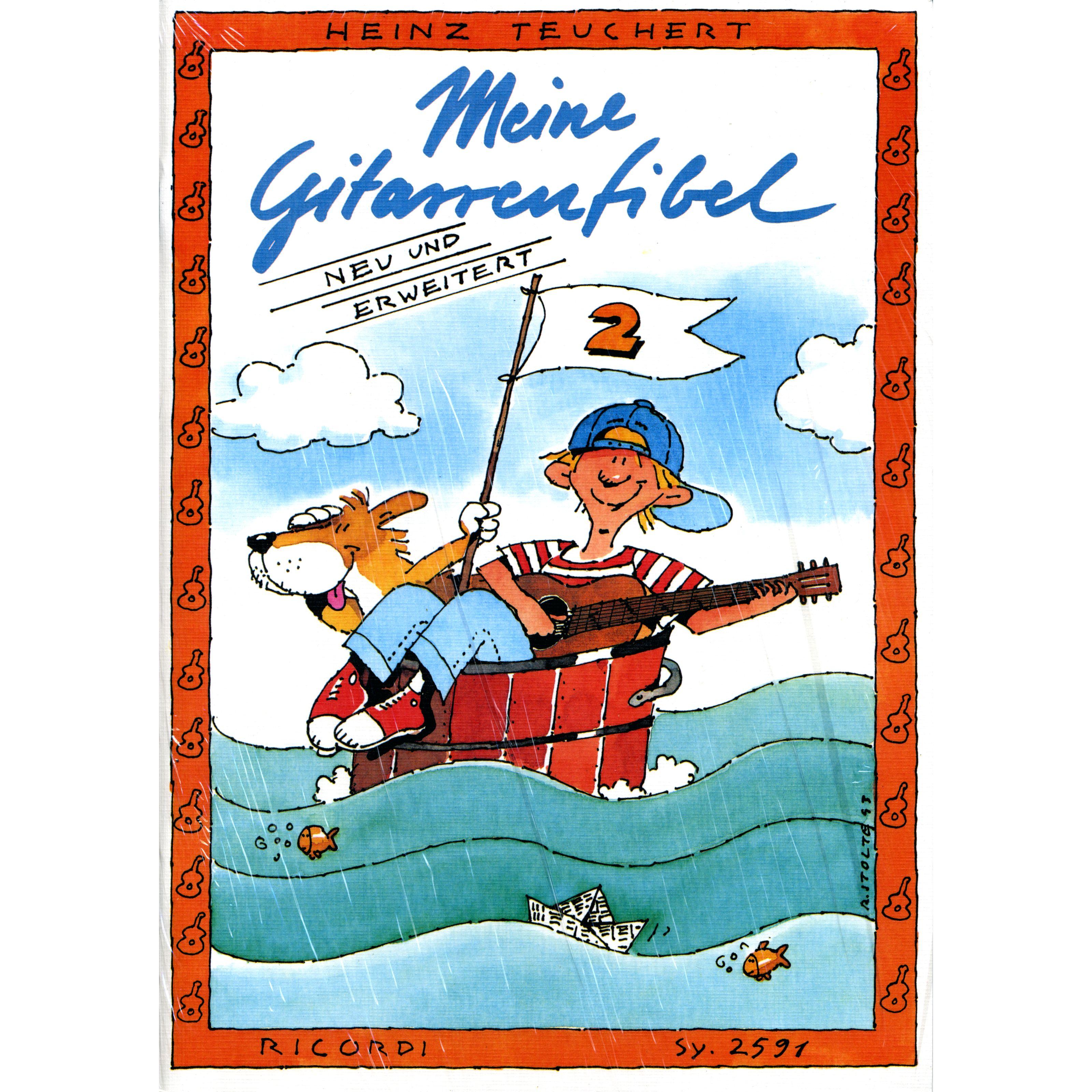 Ricordi Verlag - Meine Gitarrenfibel Bd. 2 Heinz Teuchert SY 2591
