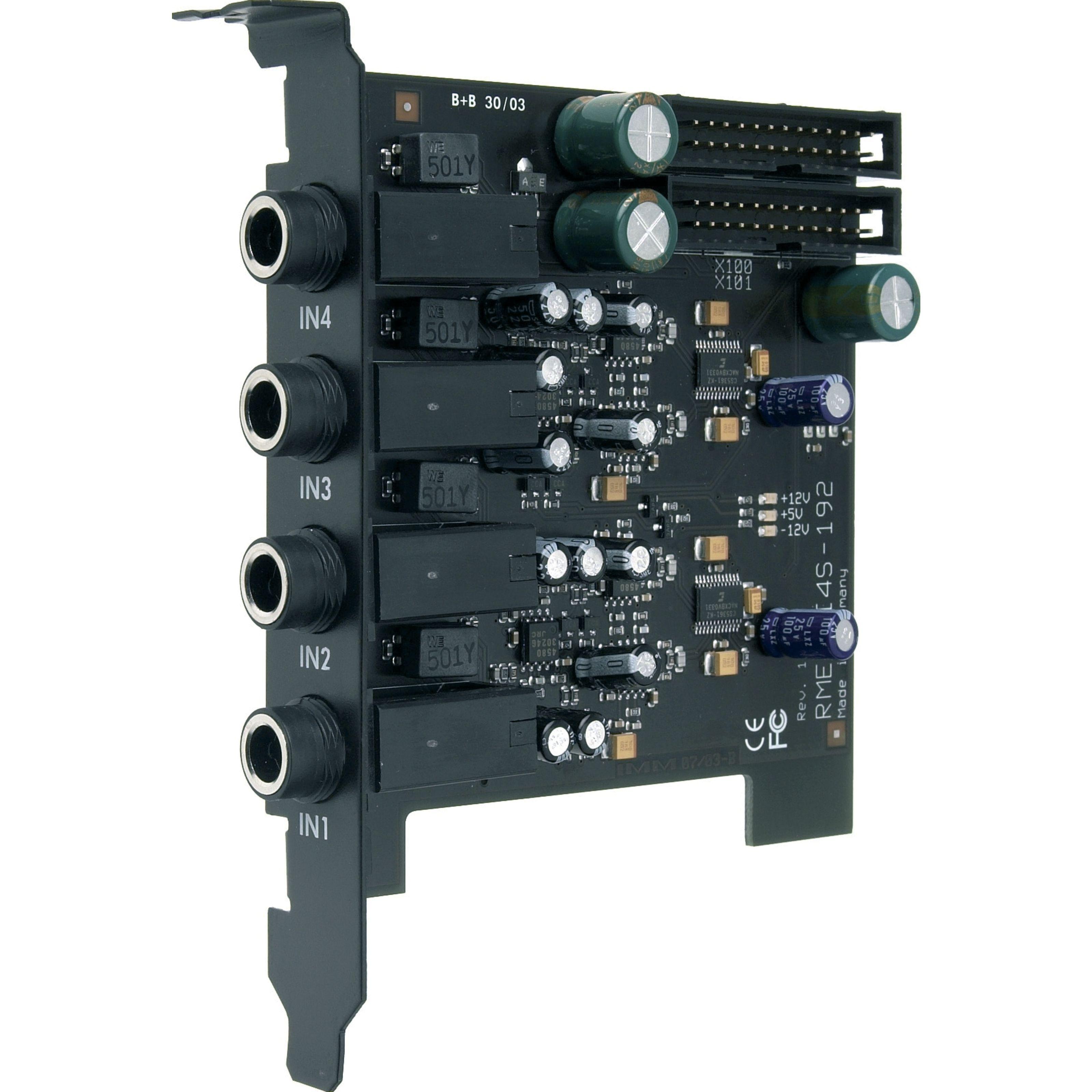 RME - AI4S-192 AIO 4 Eingänge für HDSP 9632 1000050