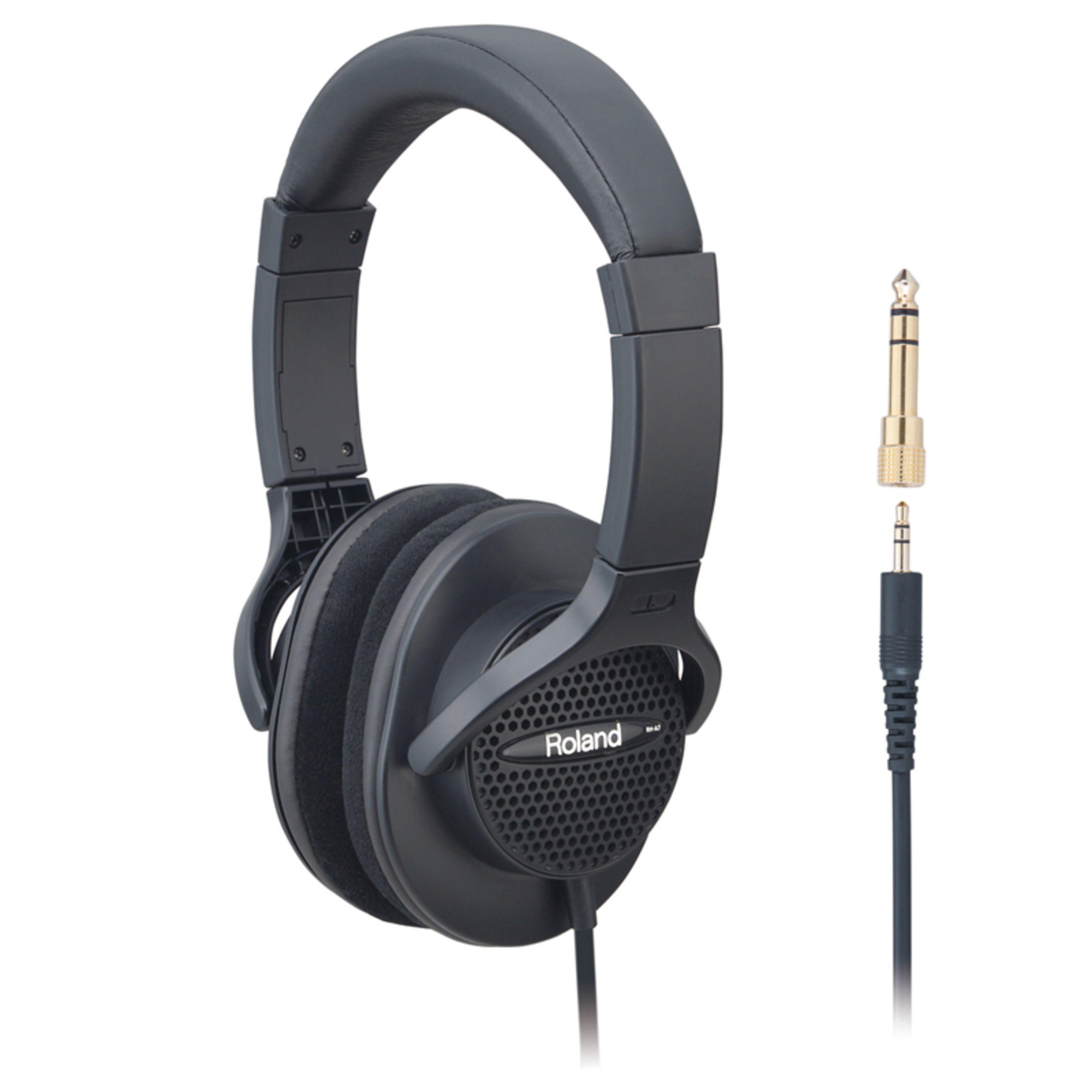 Roland - RH-A7 BK Halboffener Kopfhörer schwarz RH-A7-BK
