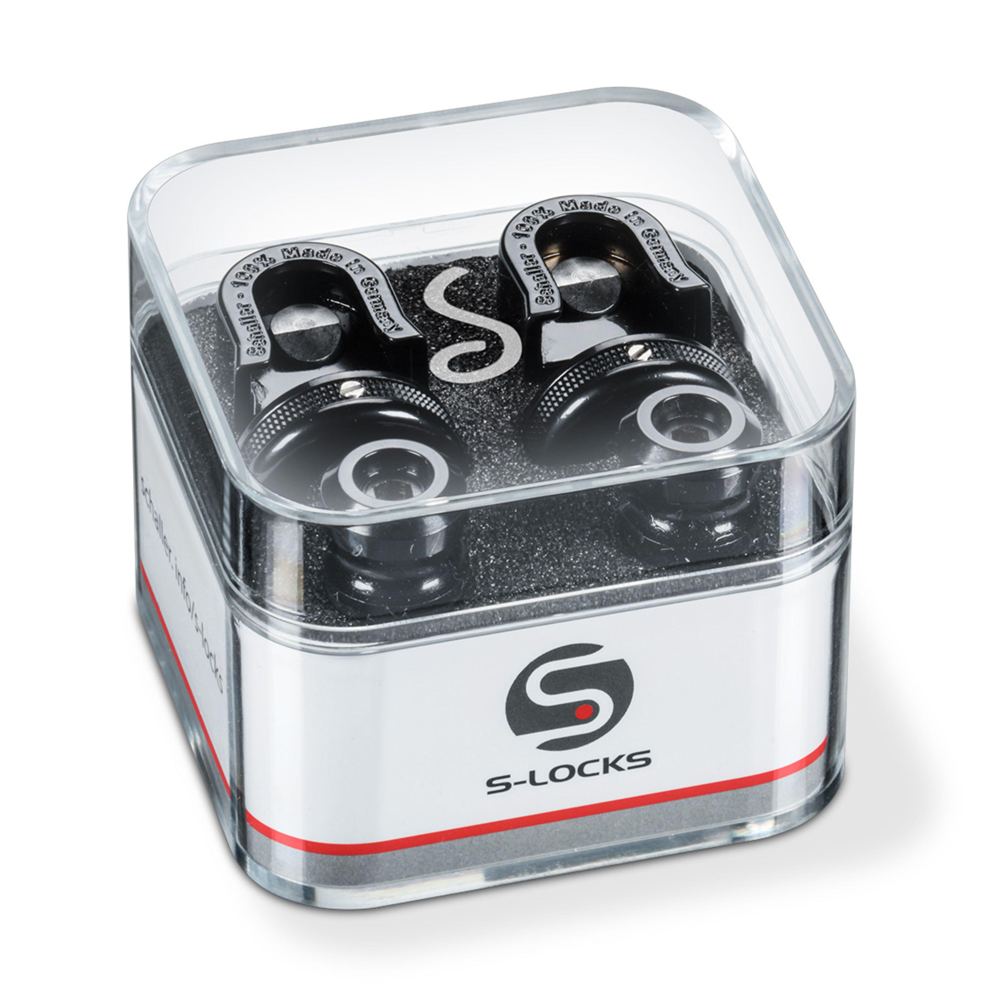Schaller - S-Locks Black Chrome 740004
