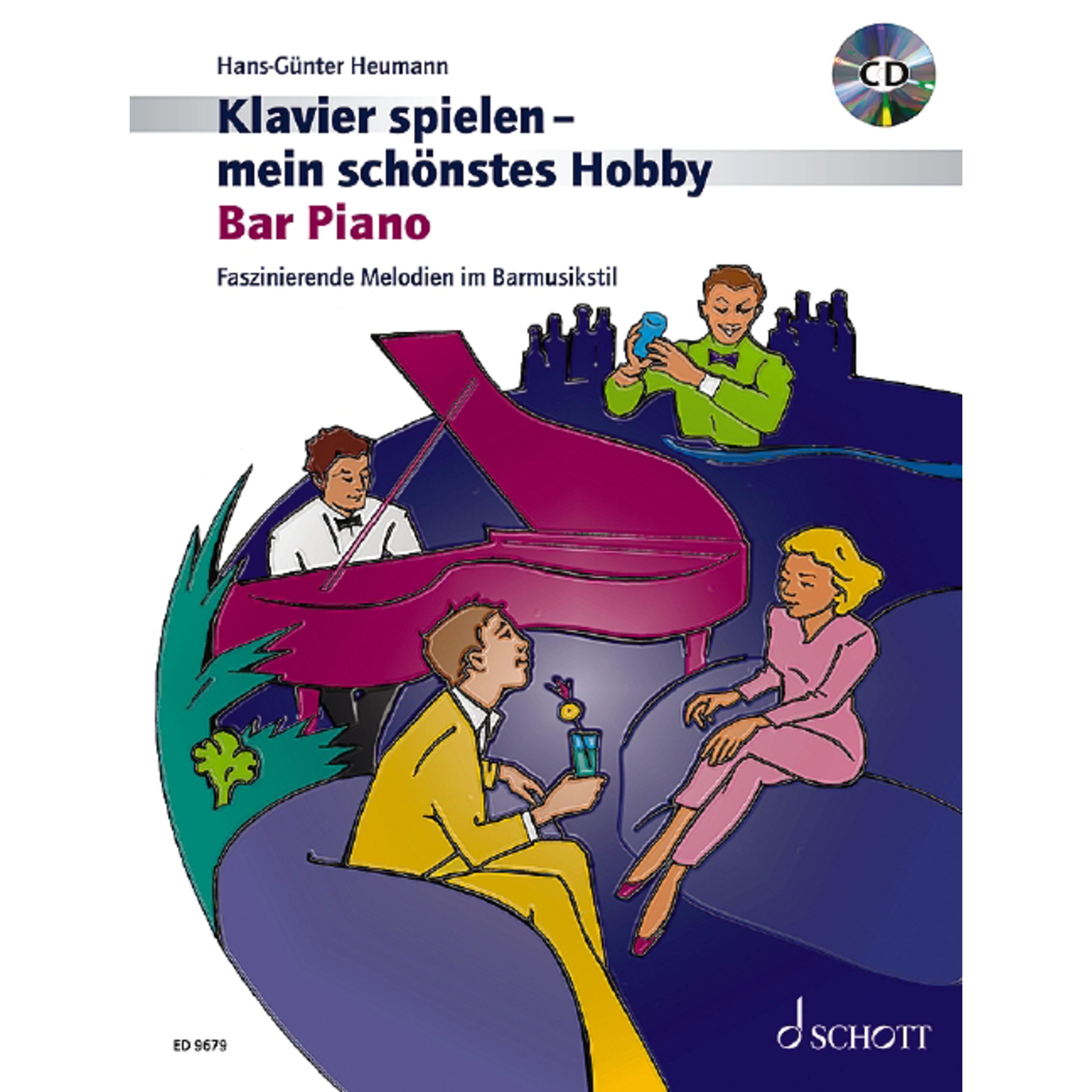 Schott Music - Bar Piano Heumann, Klavier mein Hobby ED 9679